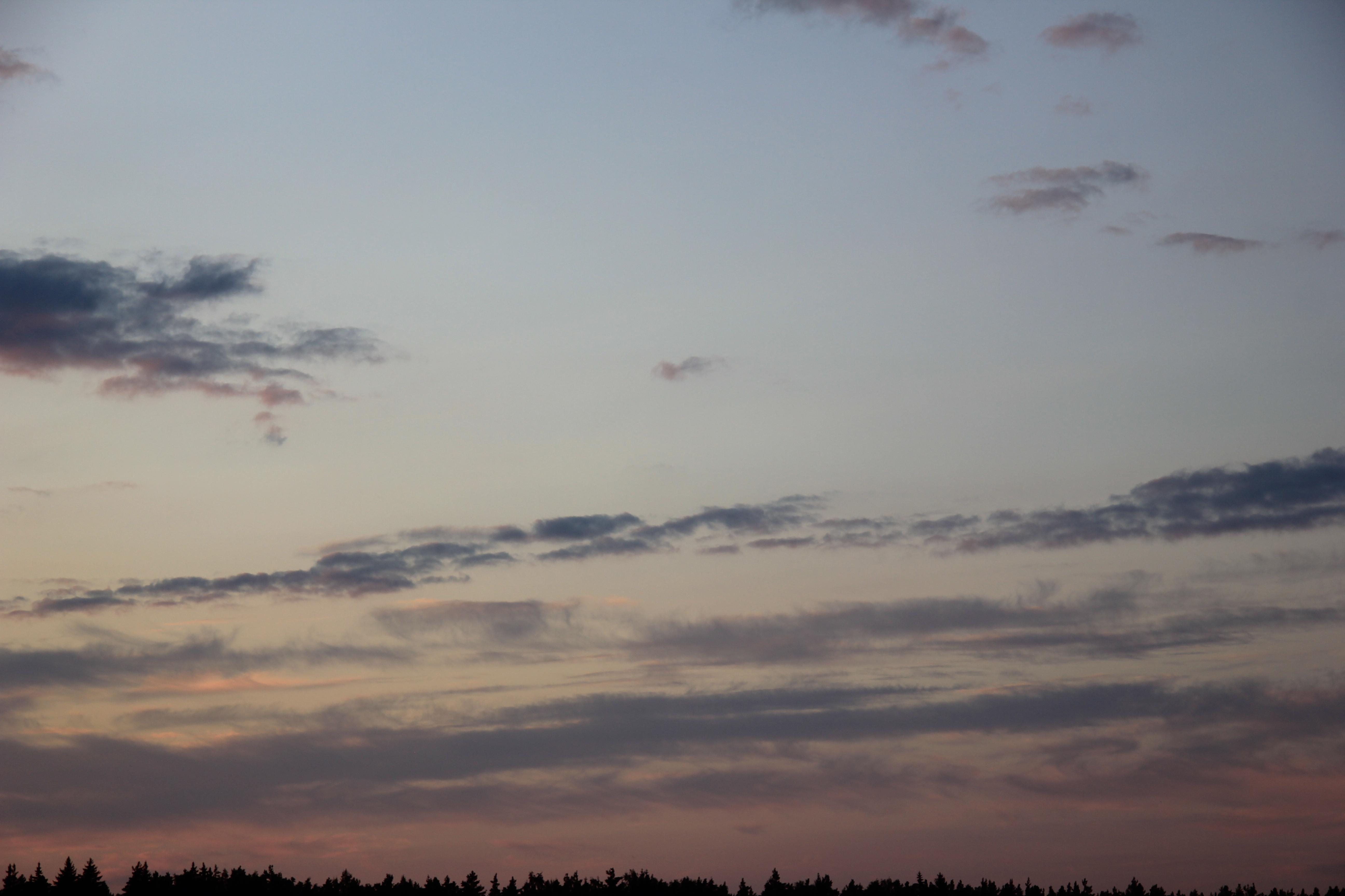 небо облака закат (4)