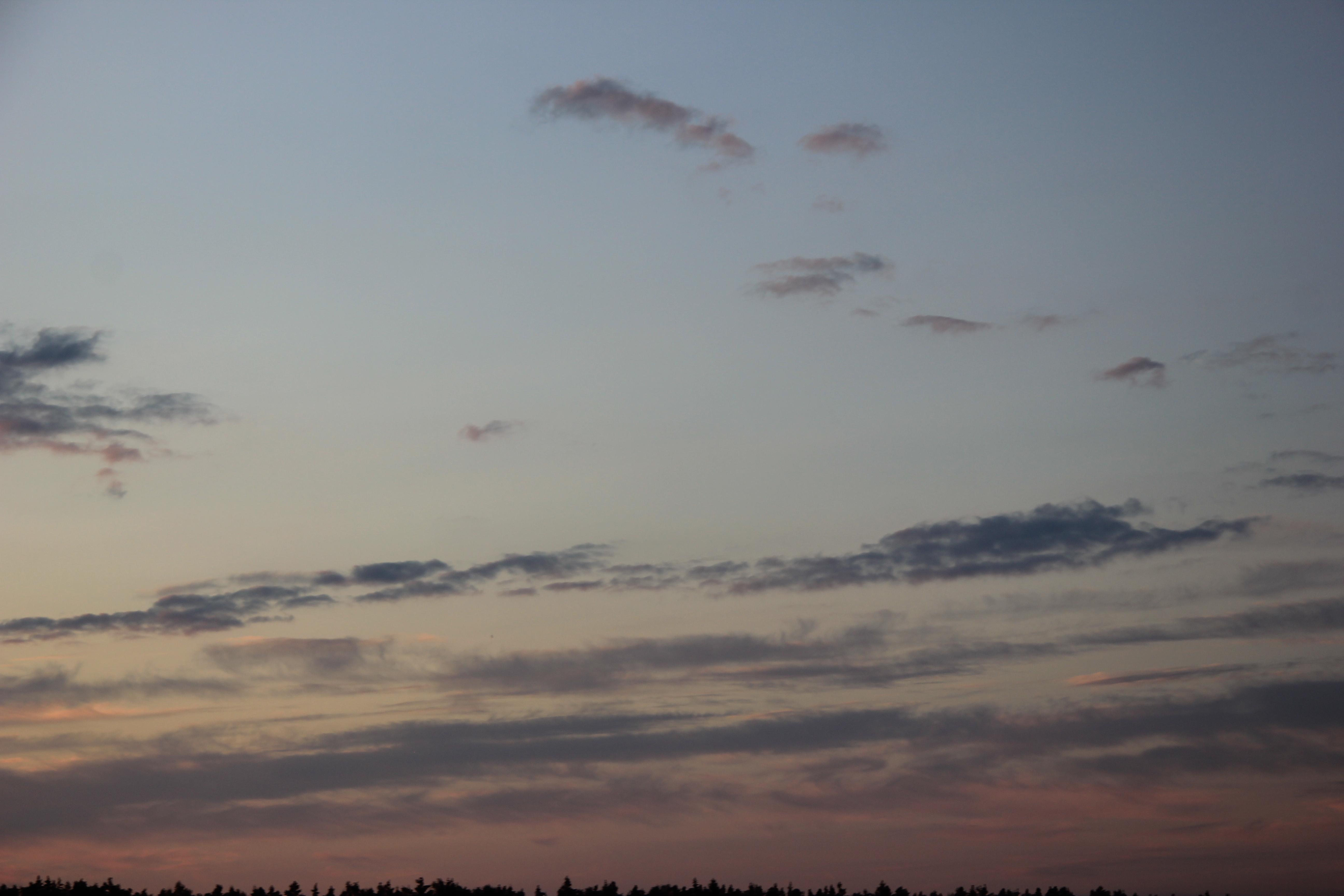 небо облака закат (5)