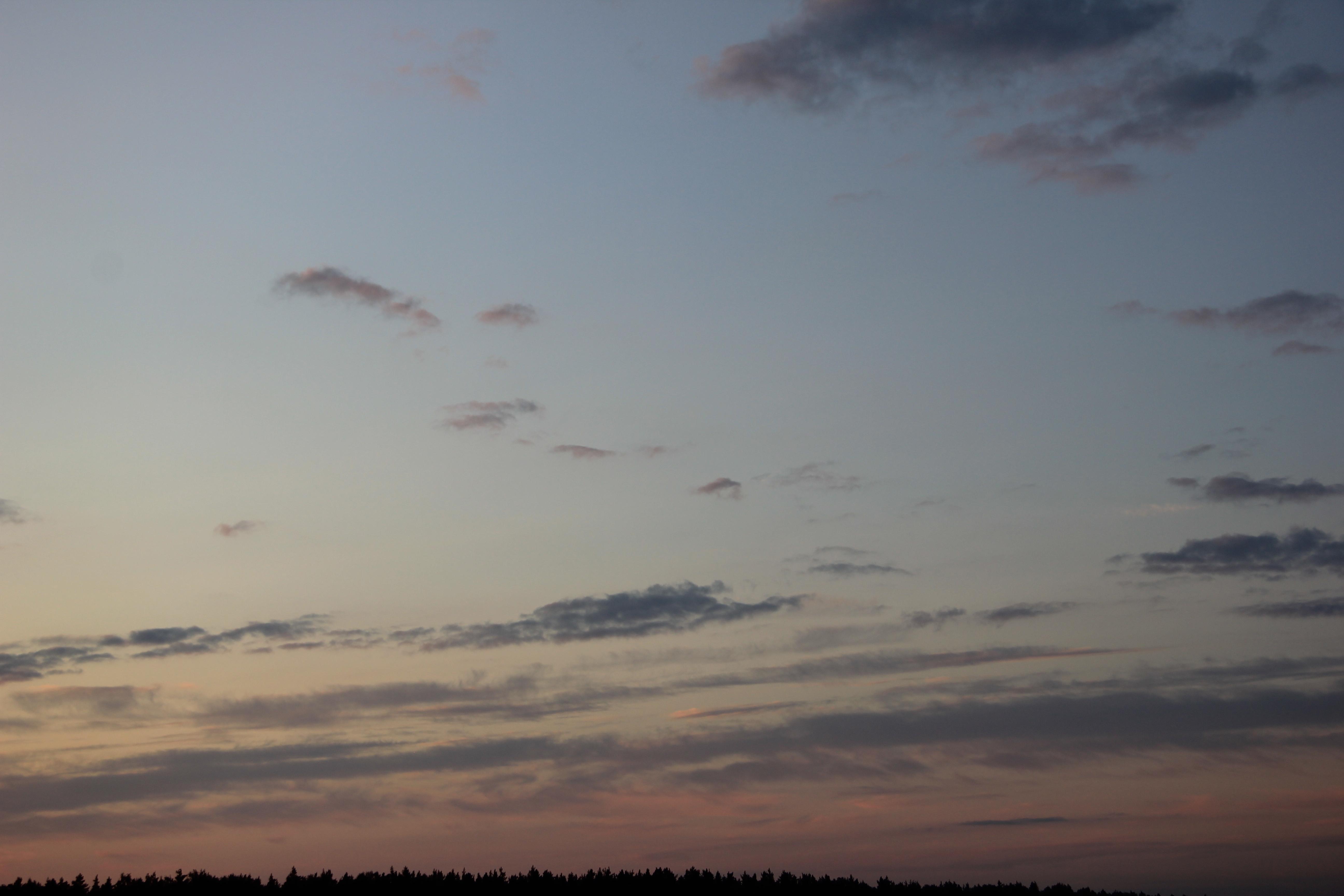 небо облака закат (7)