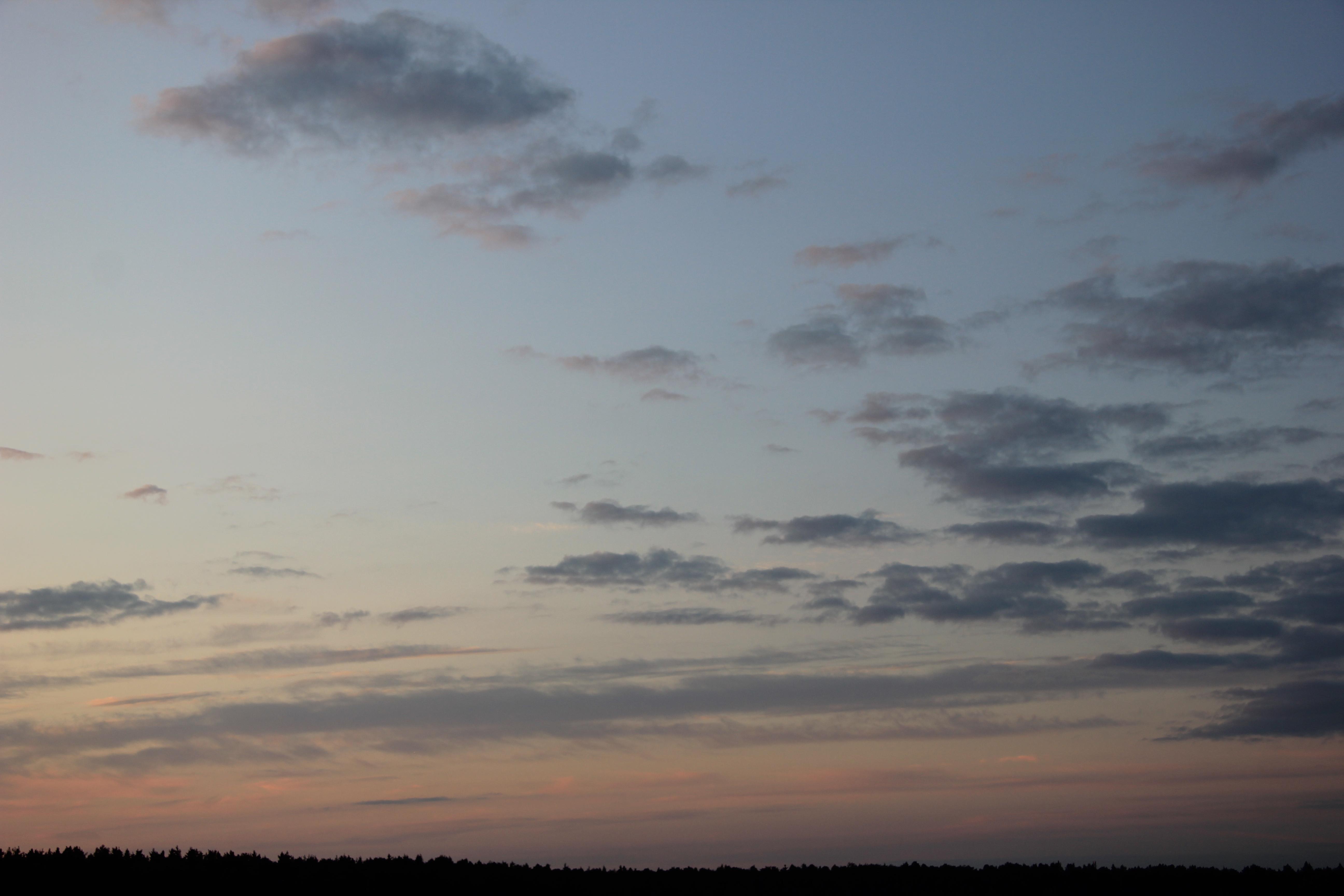 небо облака закат (8)