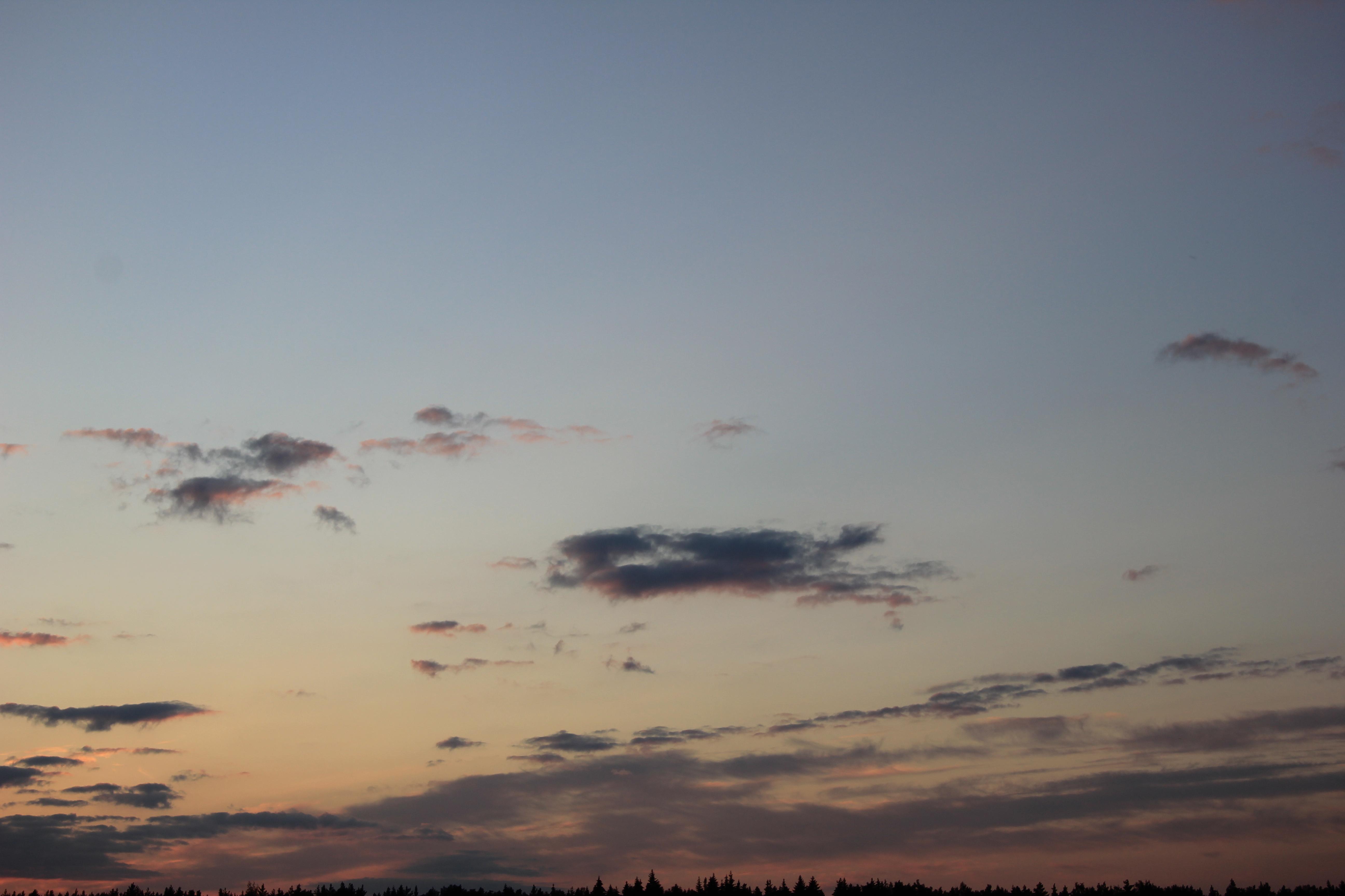 небо облака закат (9)
