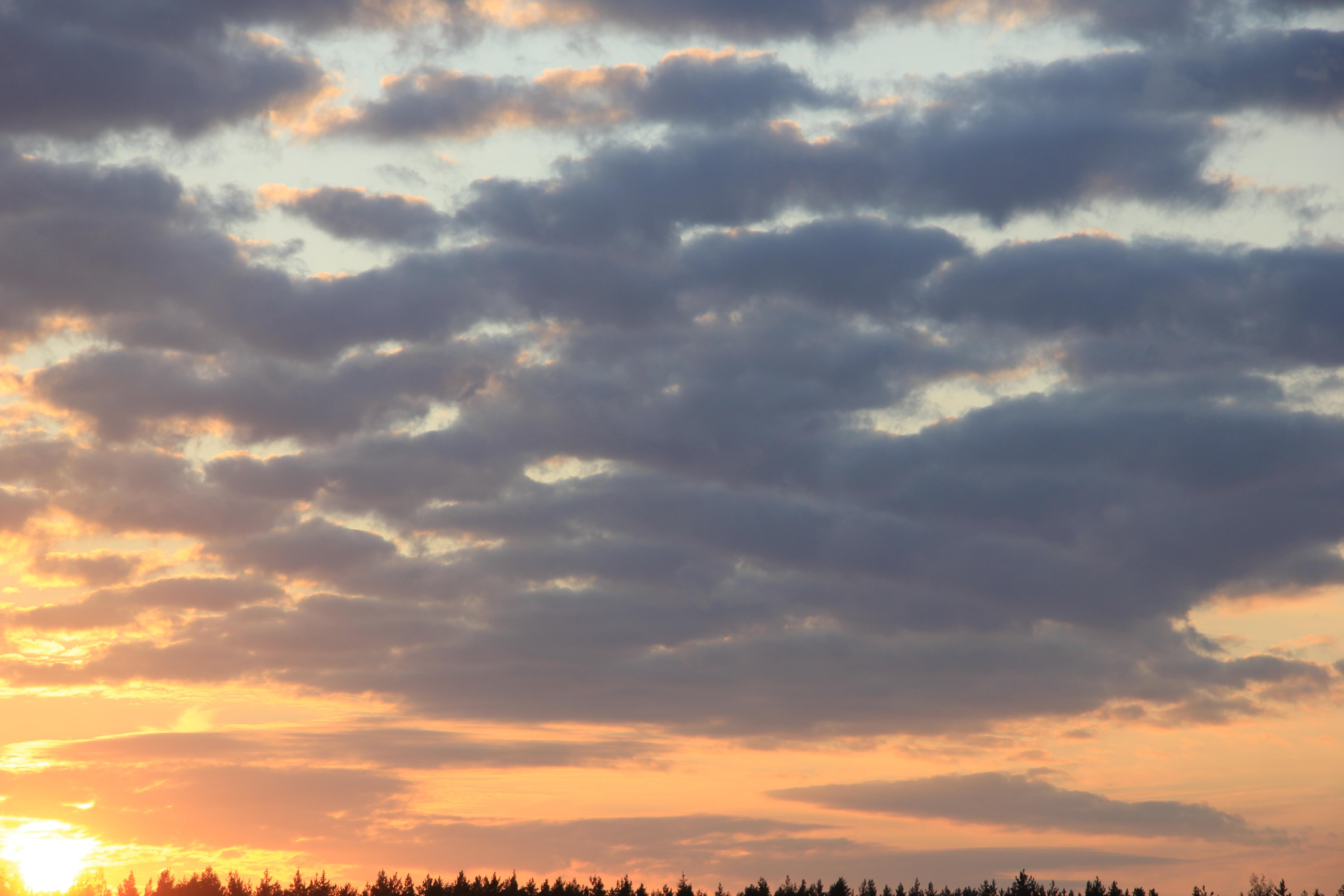 уходящее солнце в закат (10)