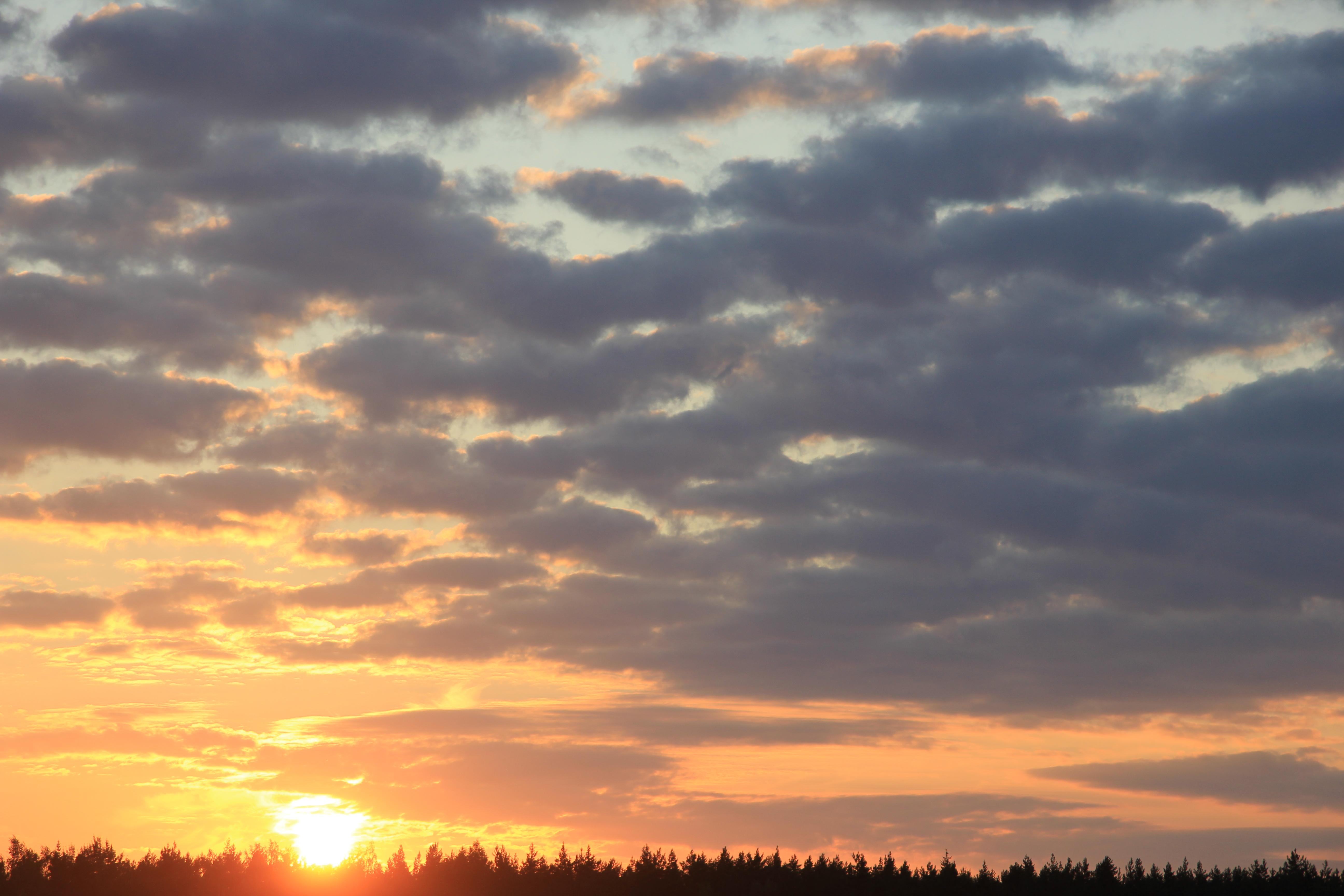 уходящее солнце в закат (11)