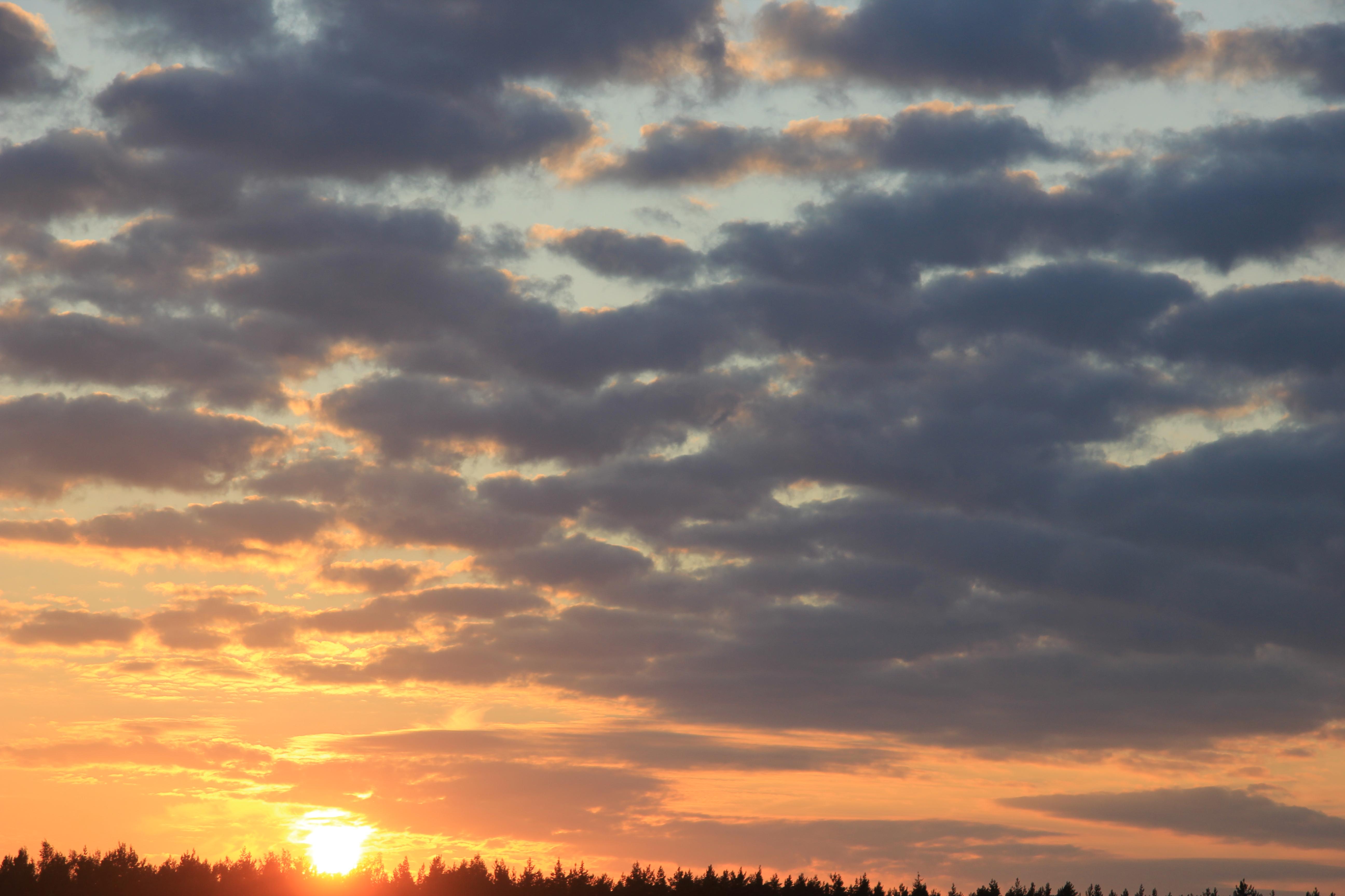 уходящее солнце в закат (12)