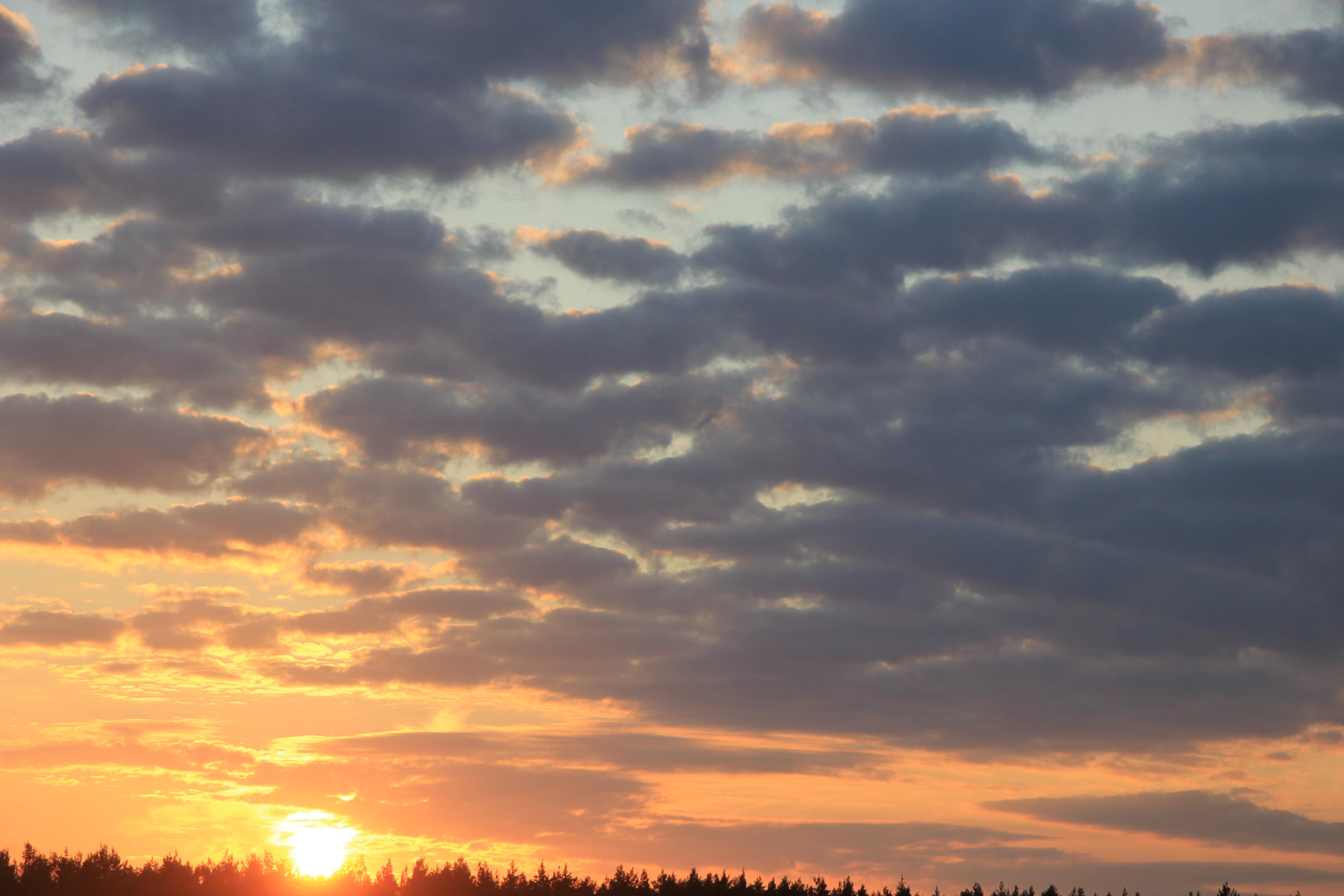 уходящее солнце в закат (13)