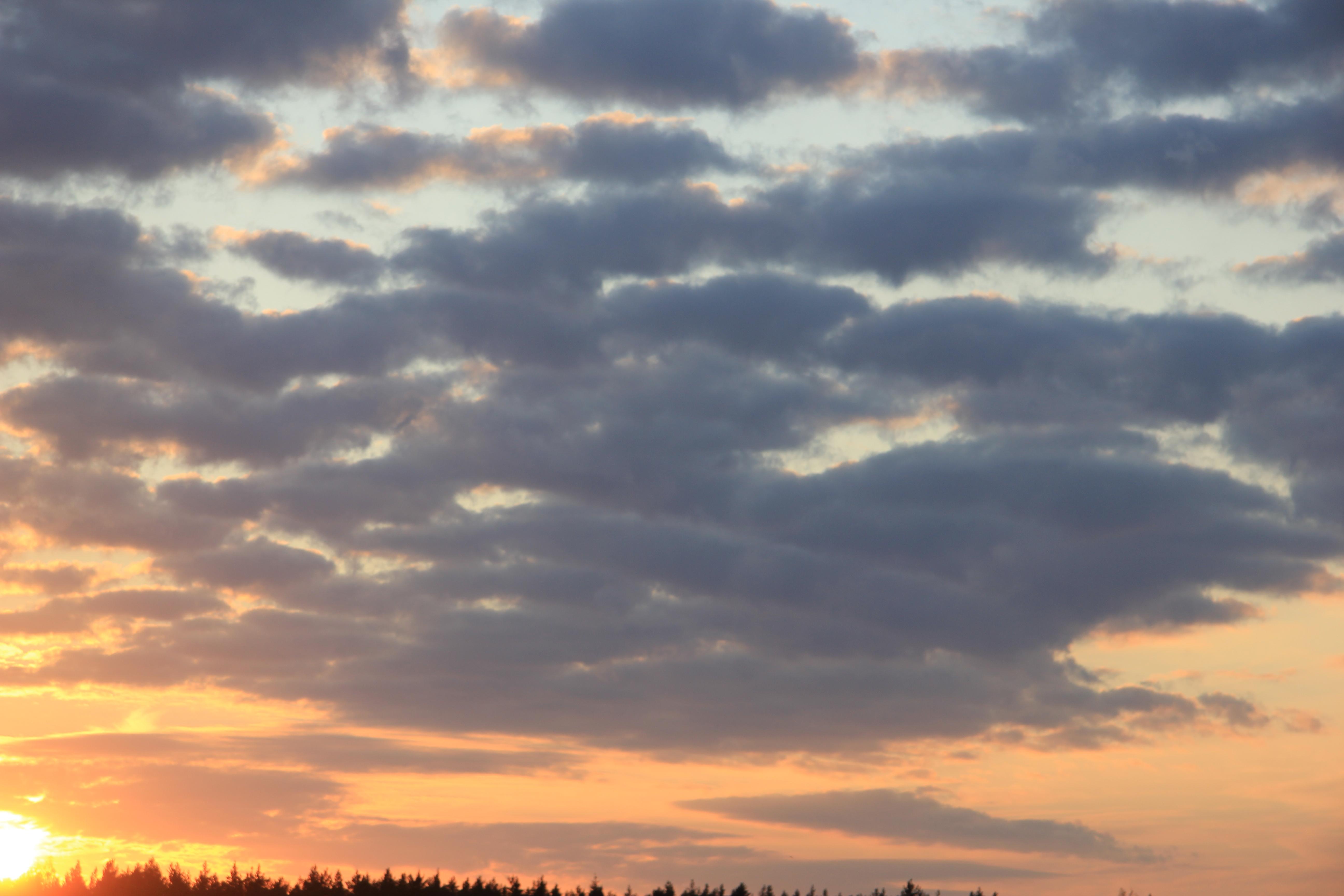 уходящее солнце в закат (15)