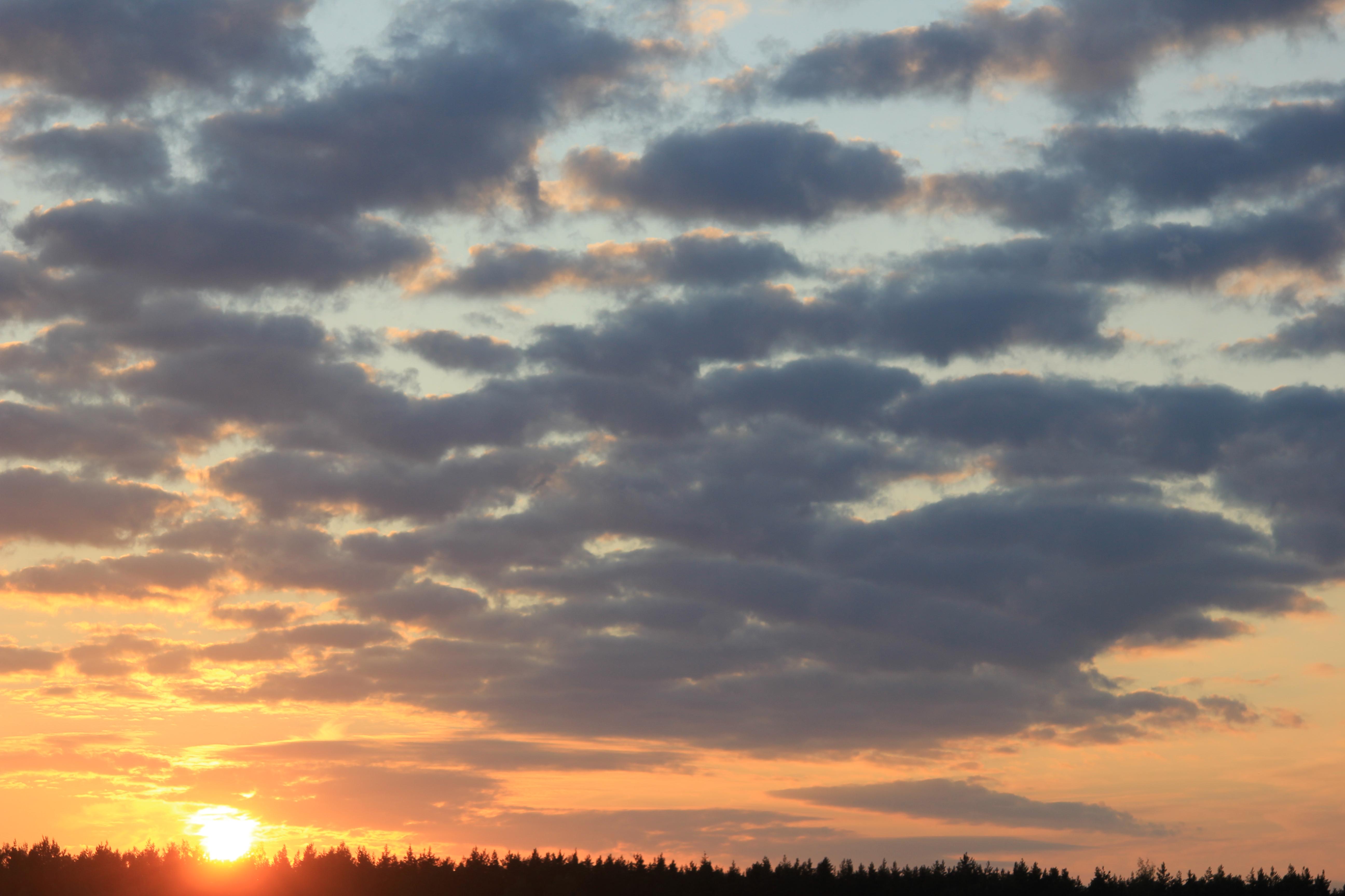 уходящее солнце в закат (18)