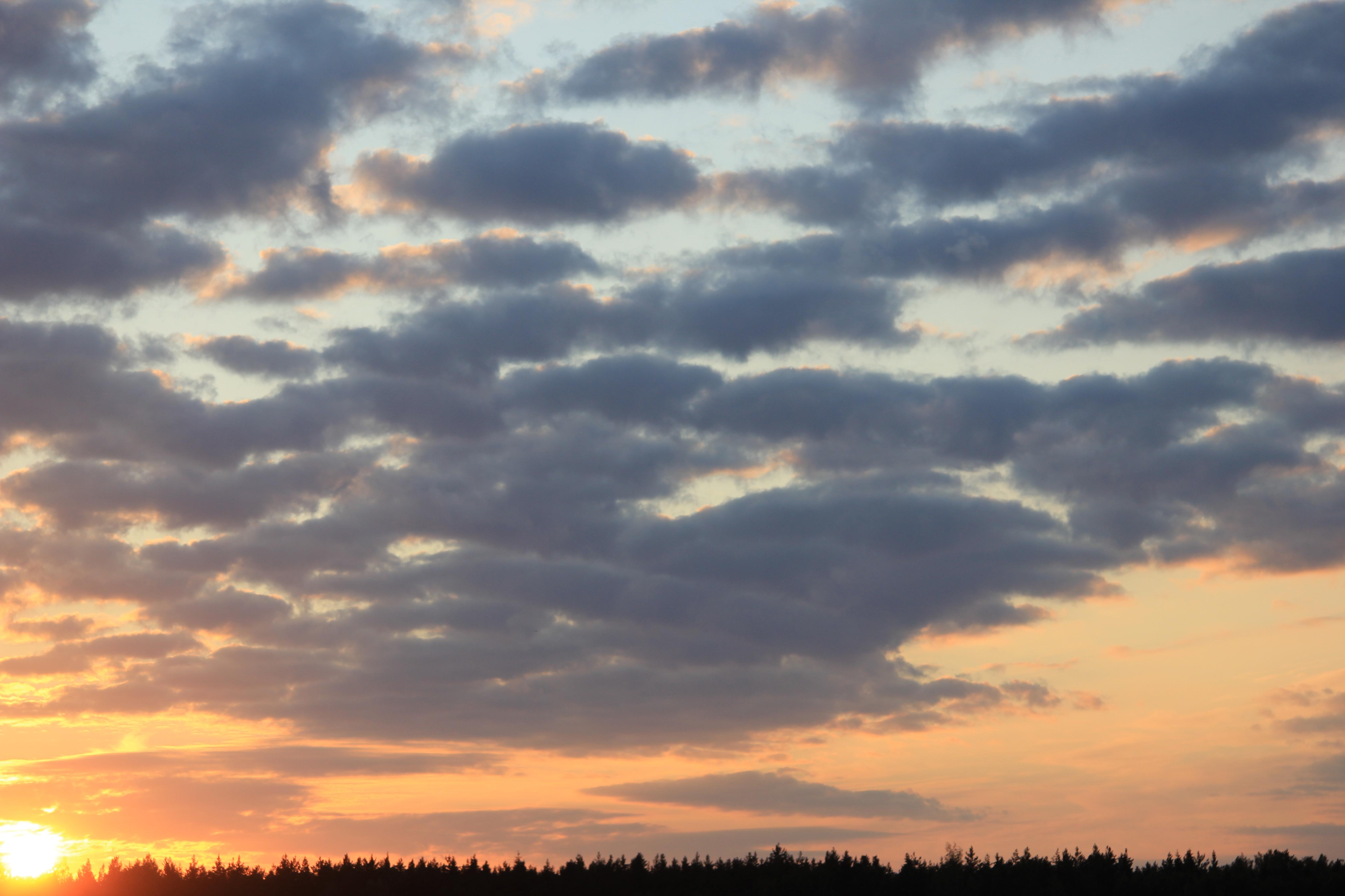уходящее солнце в закат (19)