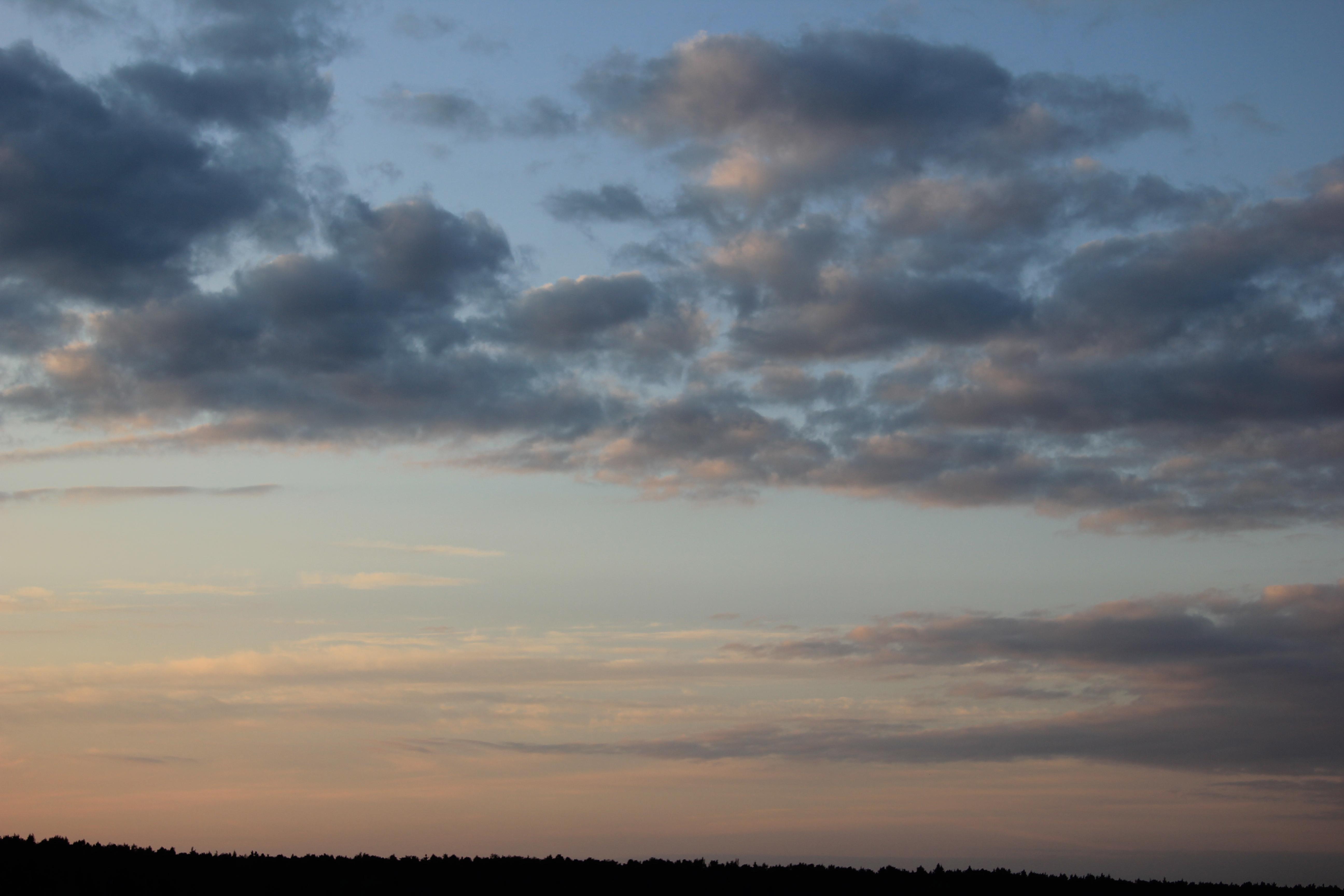 уходящее солнце в закат (2)