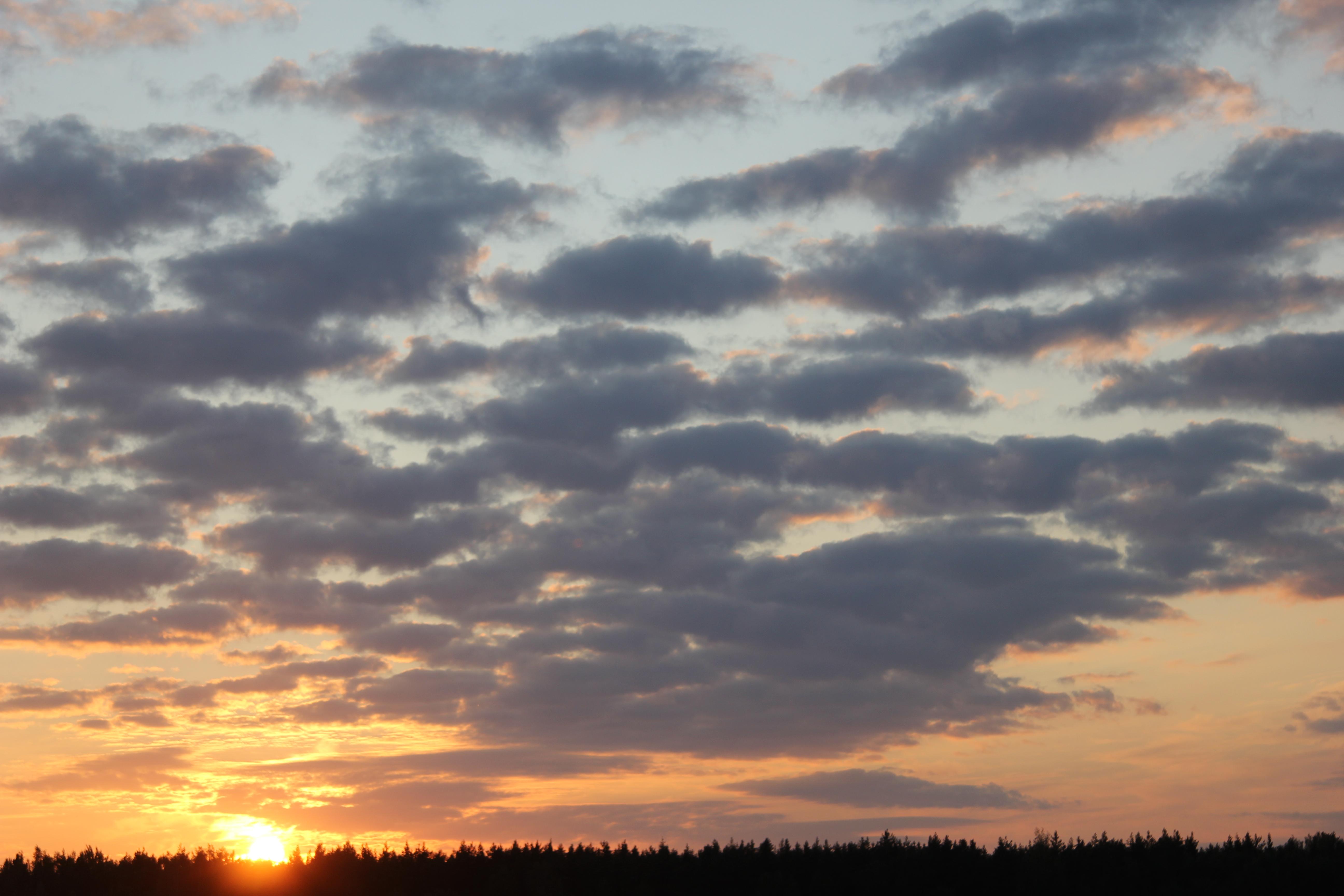 уходящее солнце в закат (22)