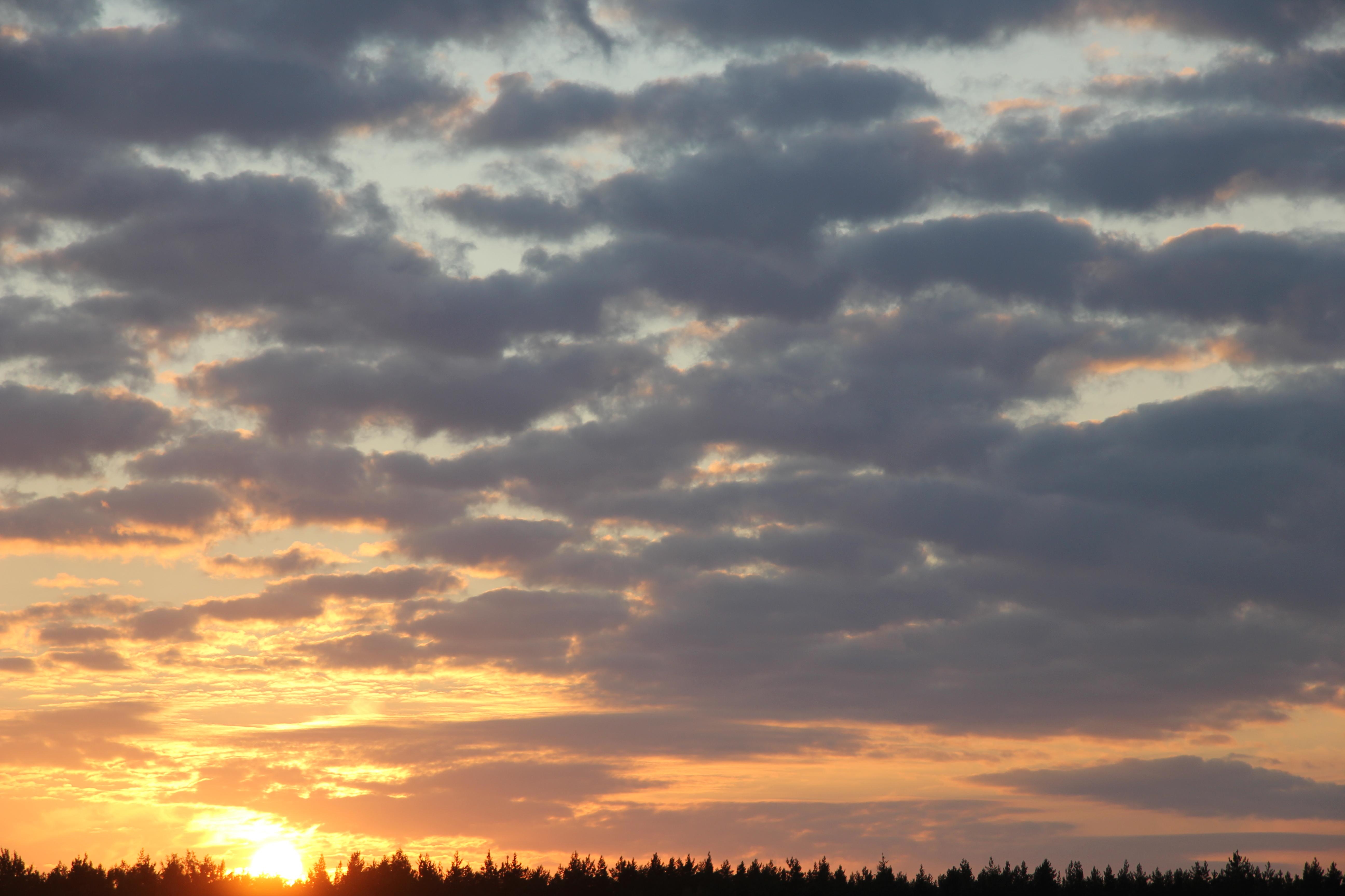 уходящее солнце в закат (23)
