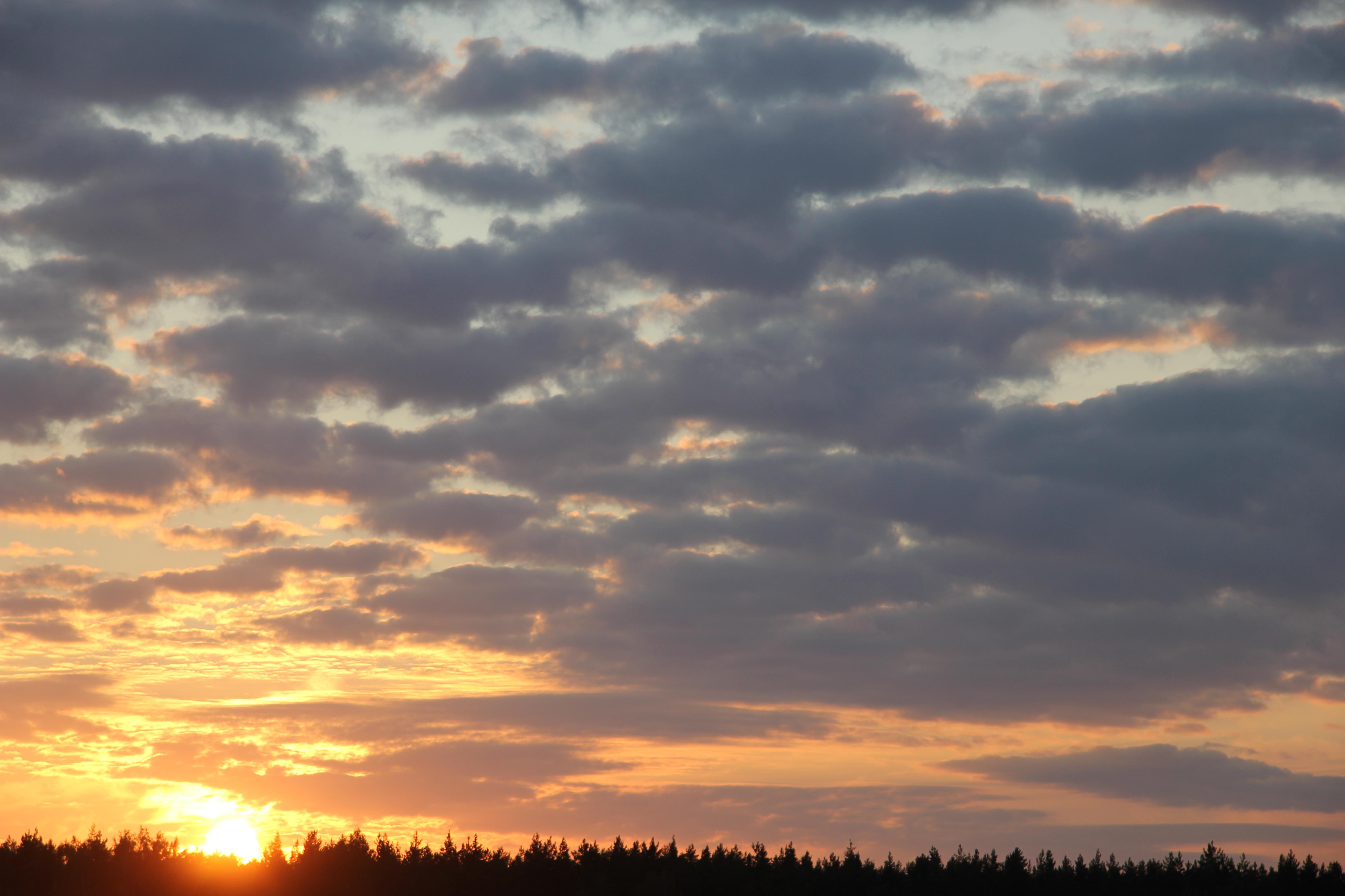 уходящее солнце в закат (24)