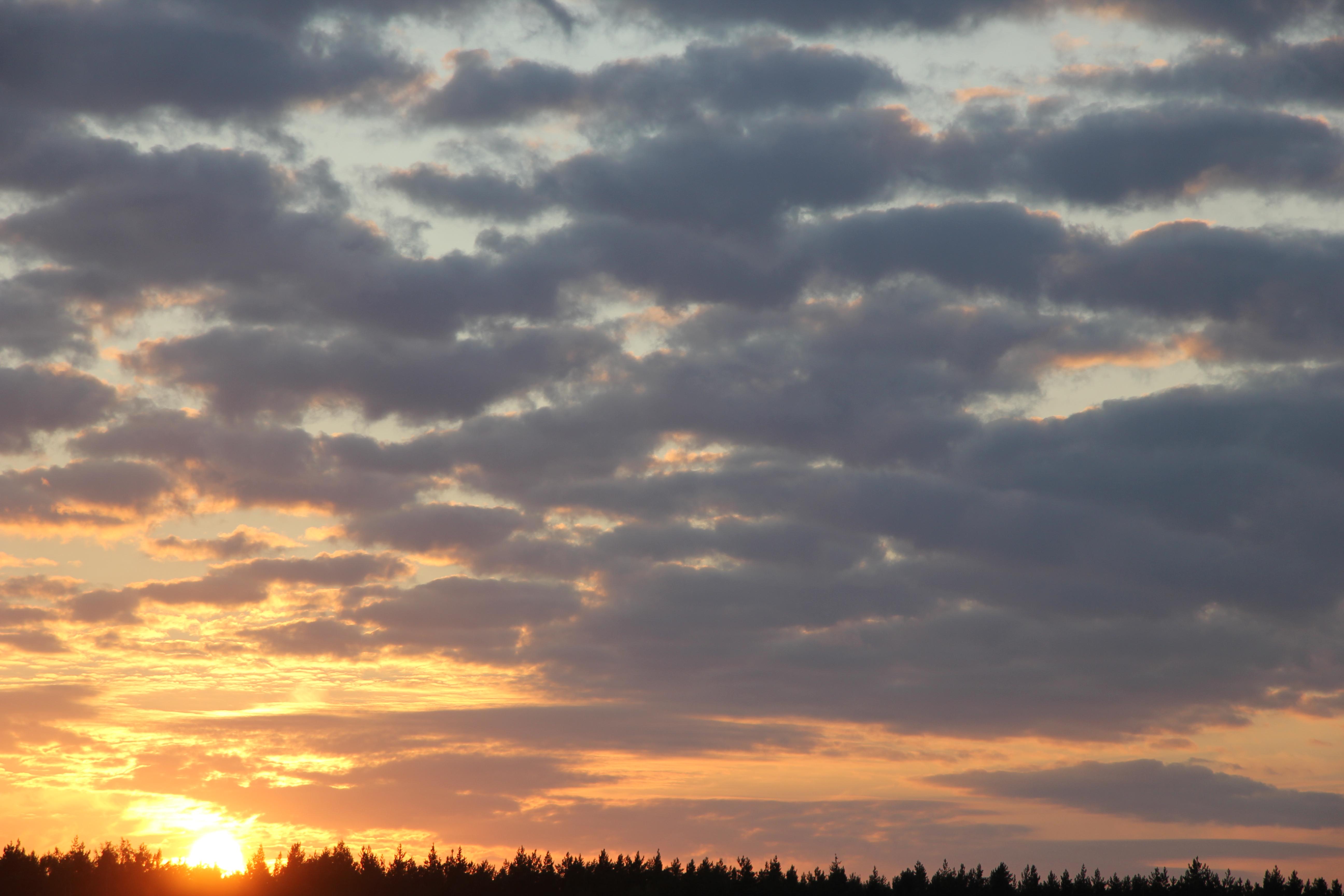 уходящее солнце в закат (25)
