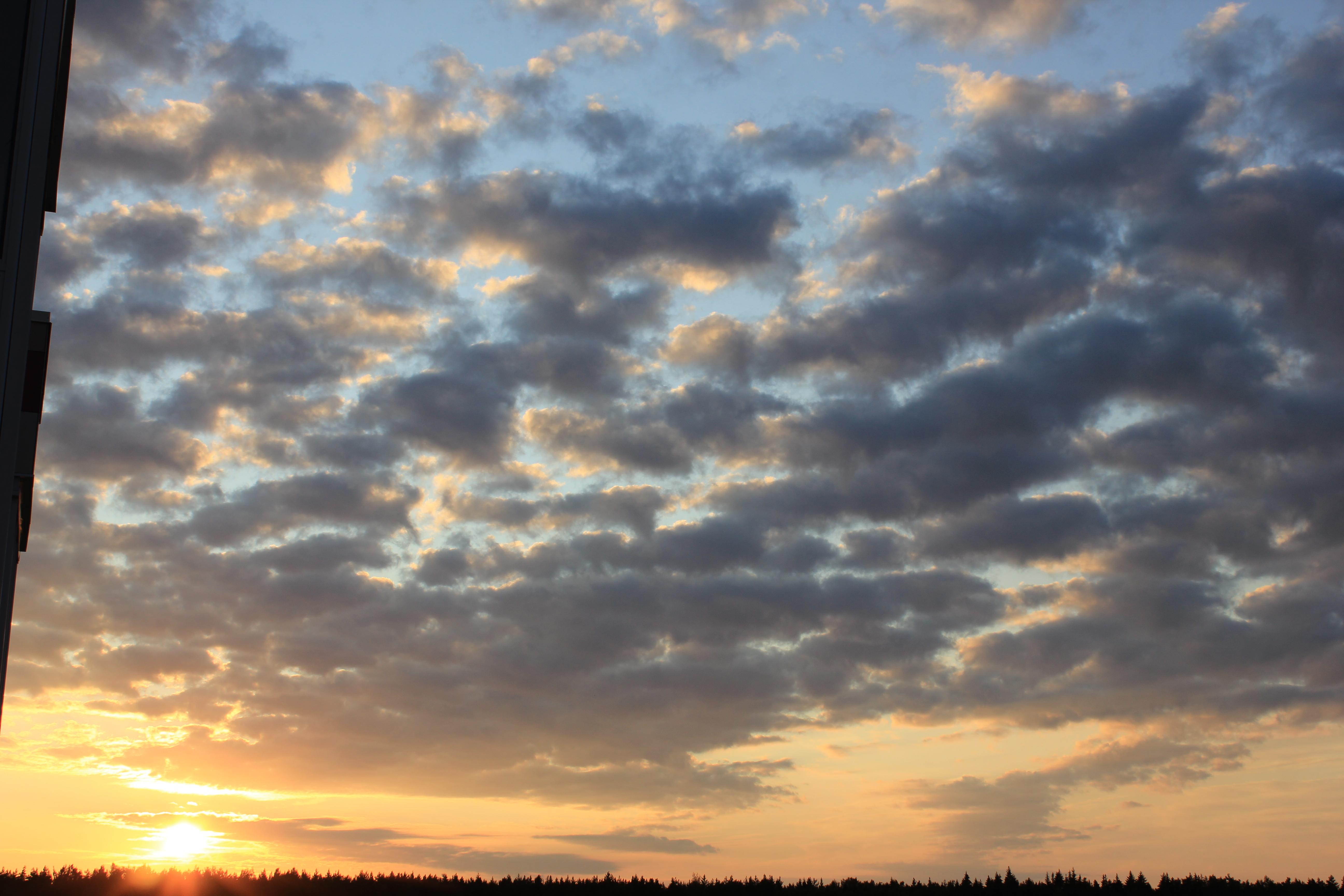 уходящее солнце в закат (26)