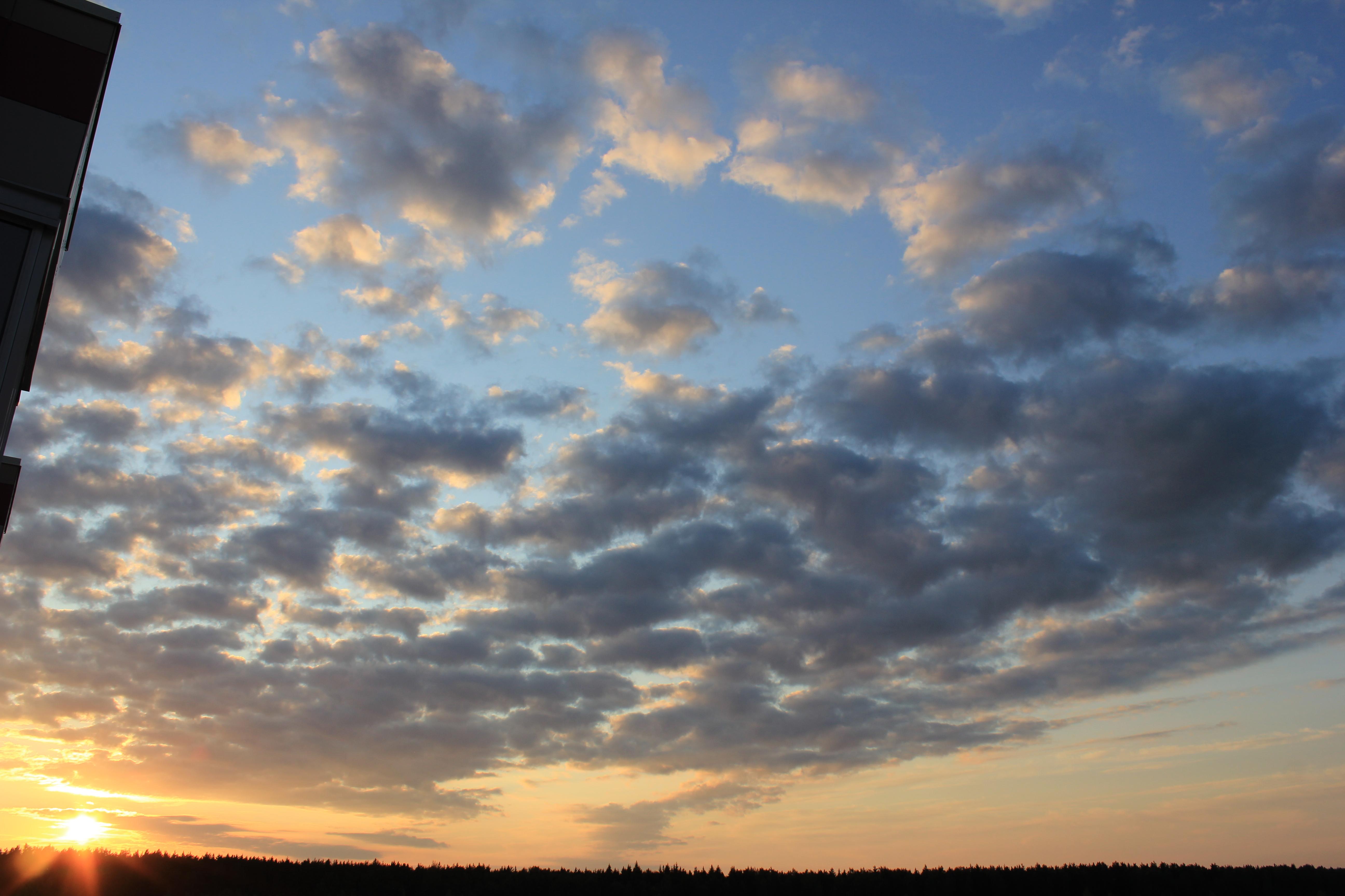 уходящее солнце в закат (29)