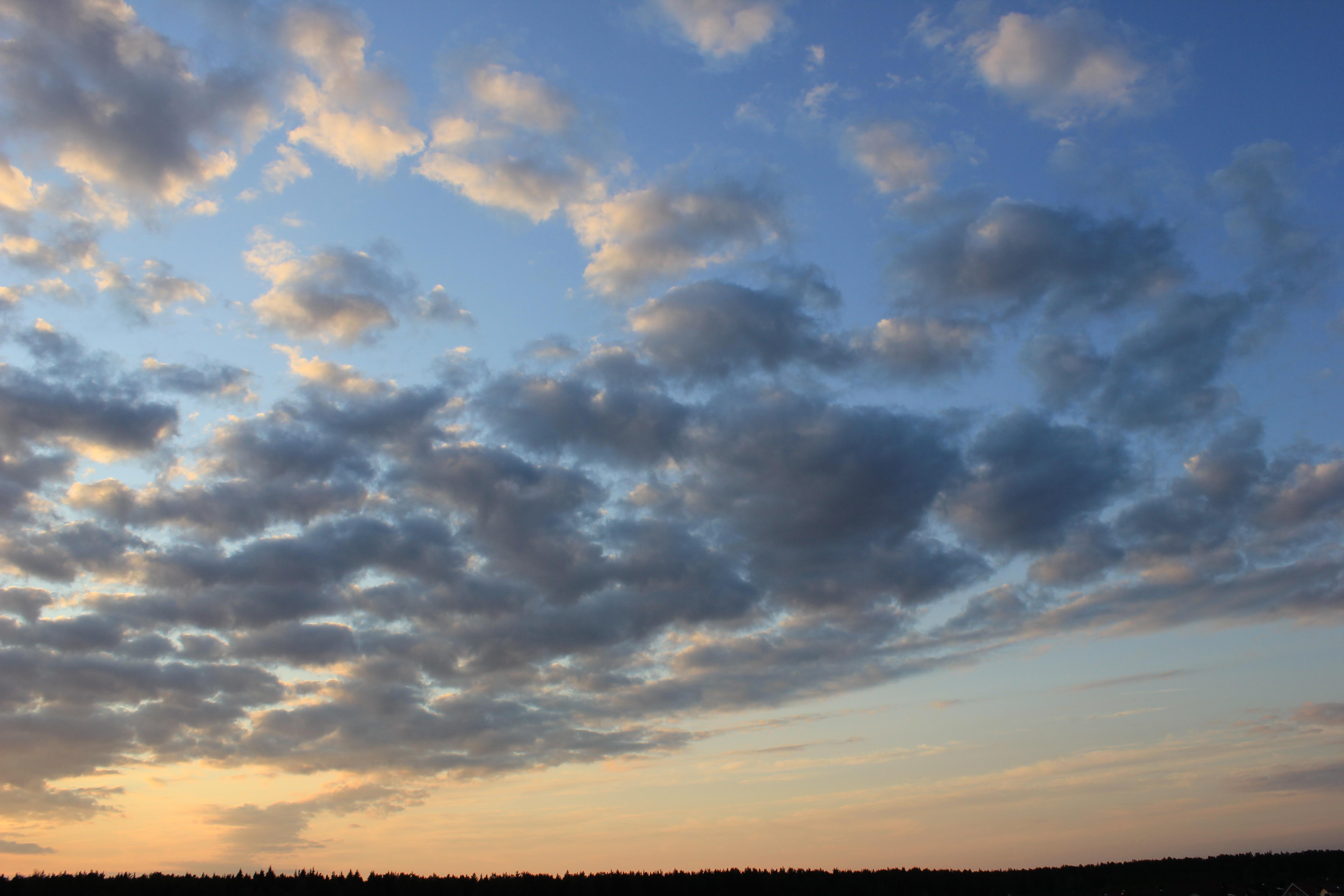 уходящее солнце в закат (30)