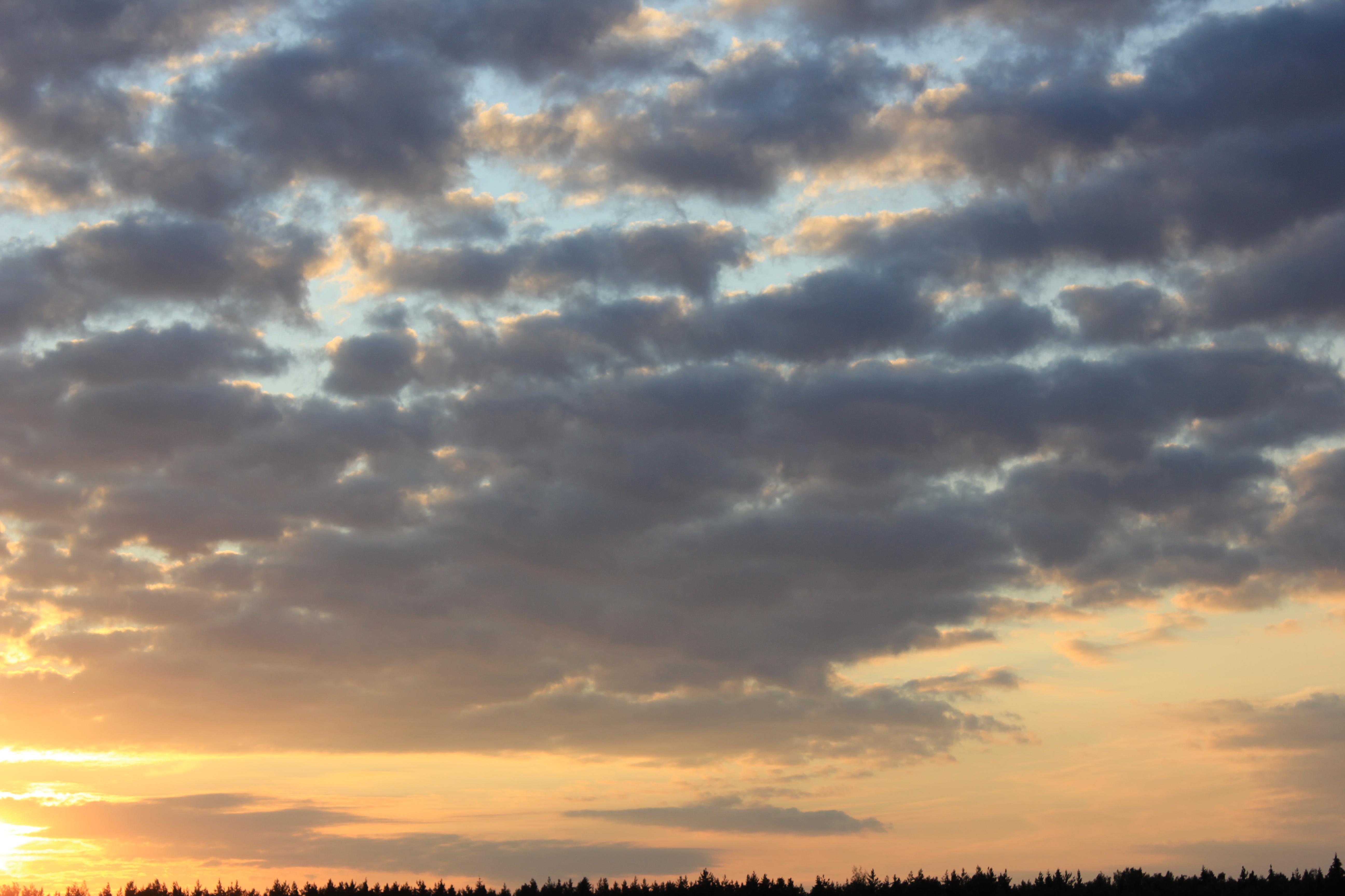 уходящее солнце в закат (43)