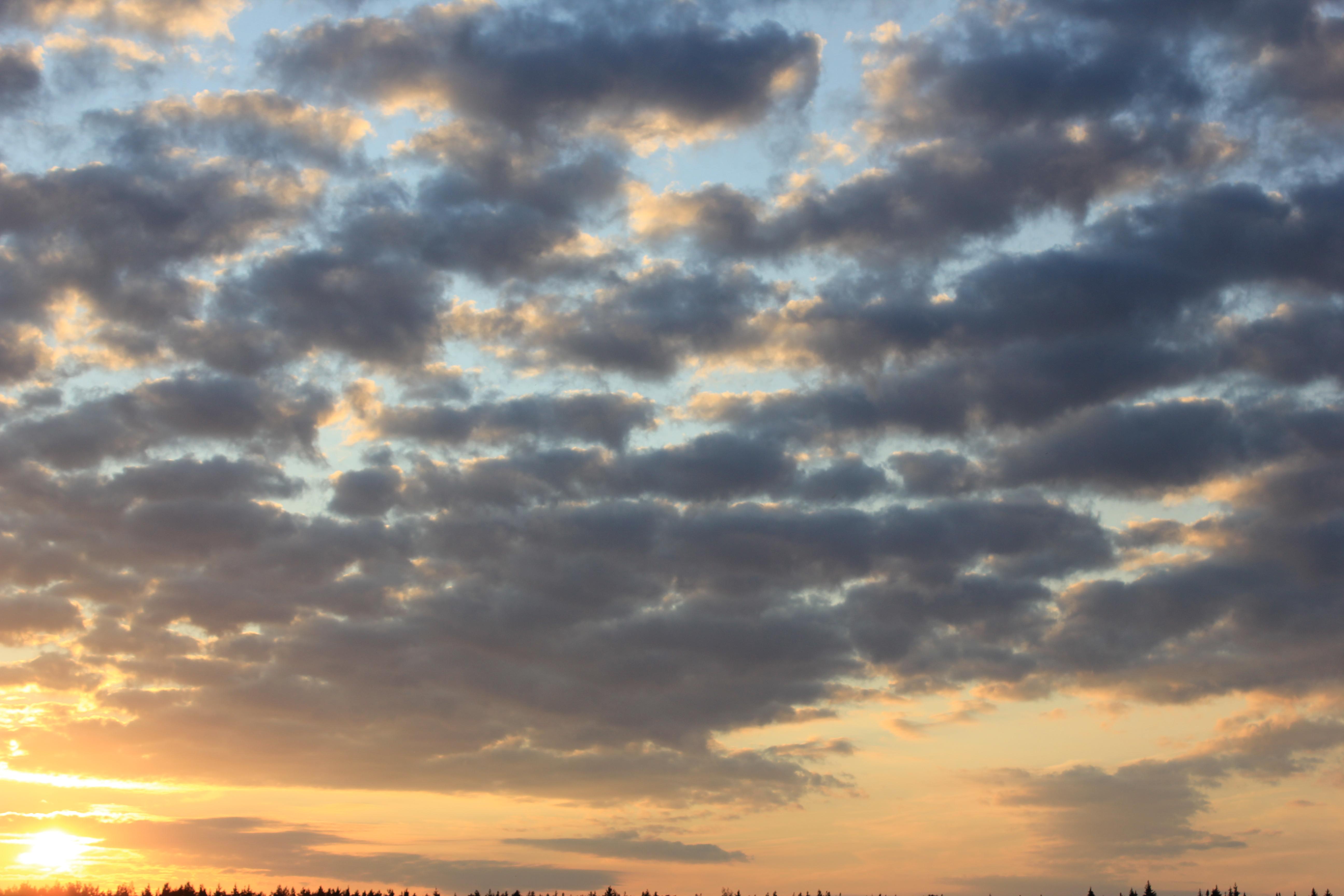 уходящее солнце в закат (46)