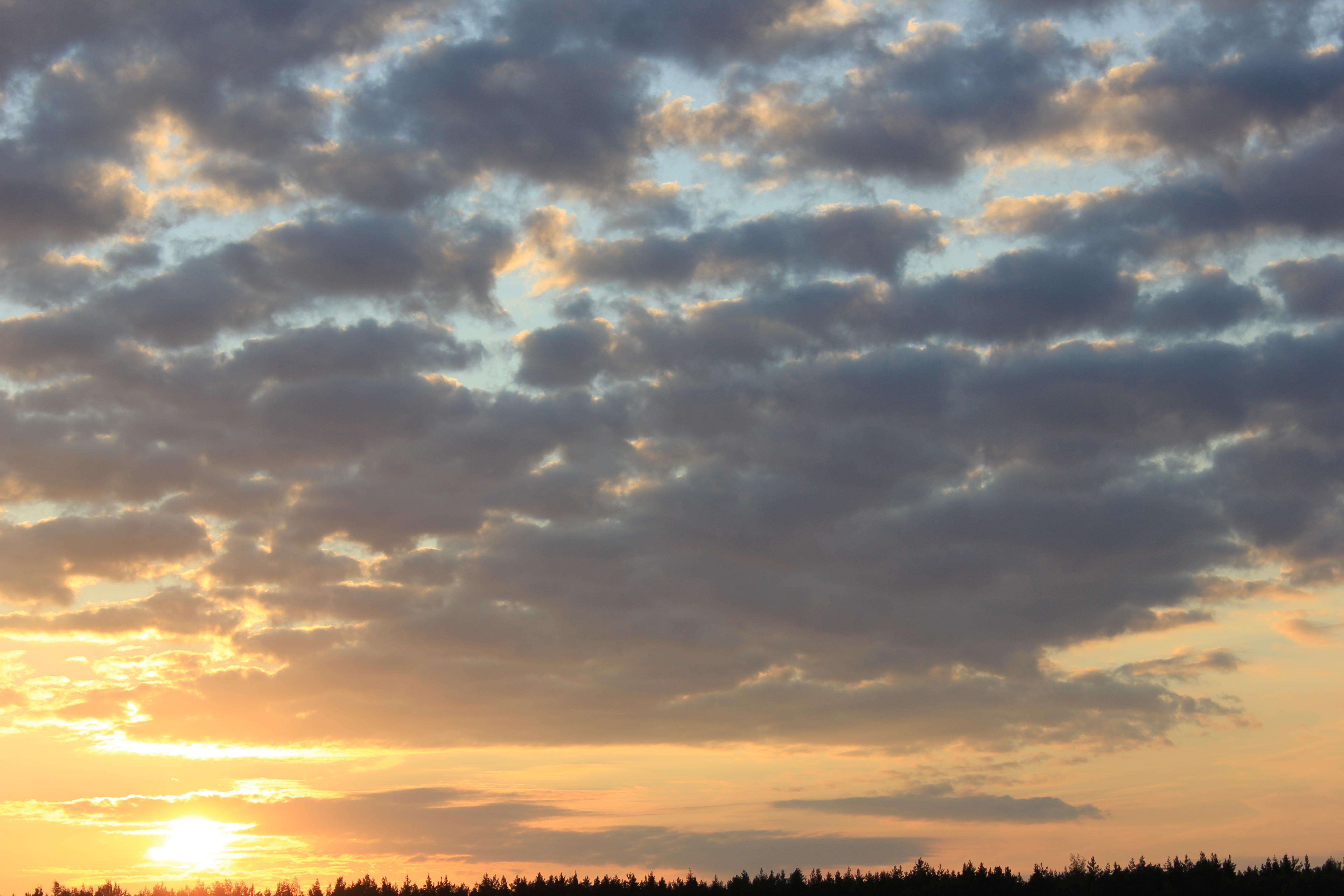 уходящее солнце в закат (47)