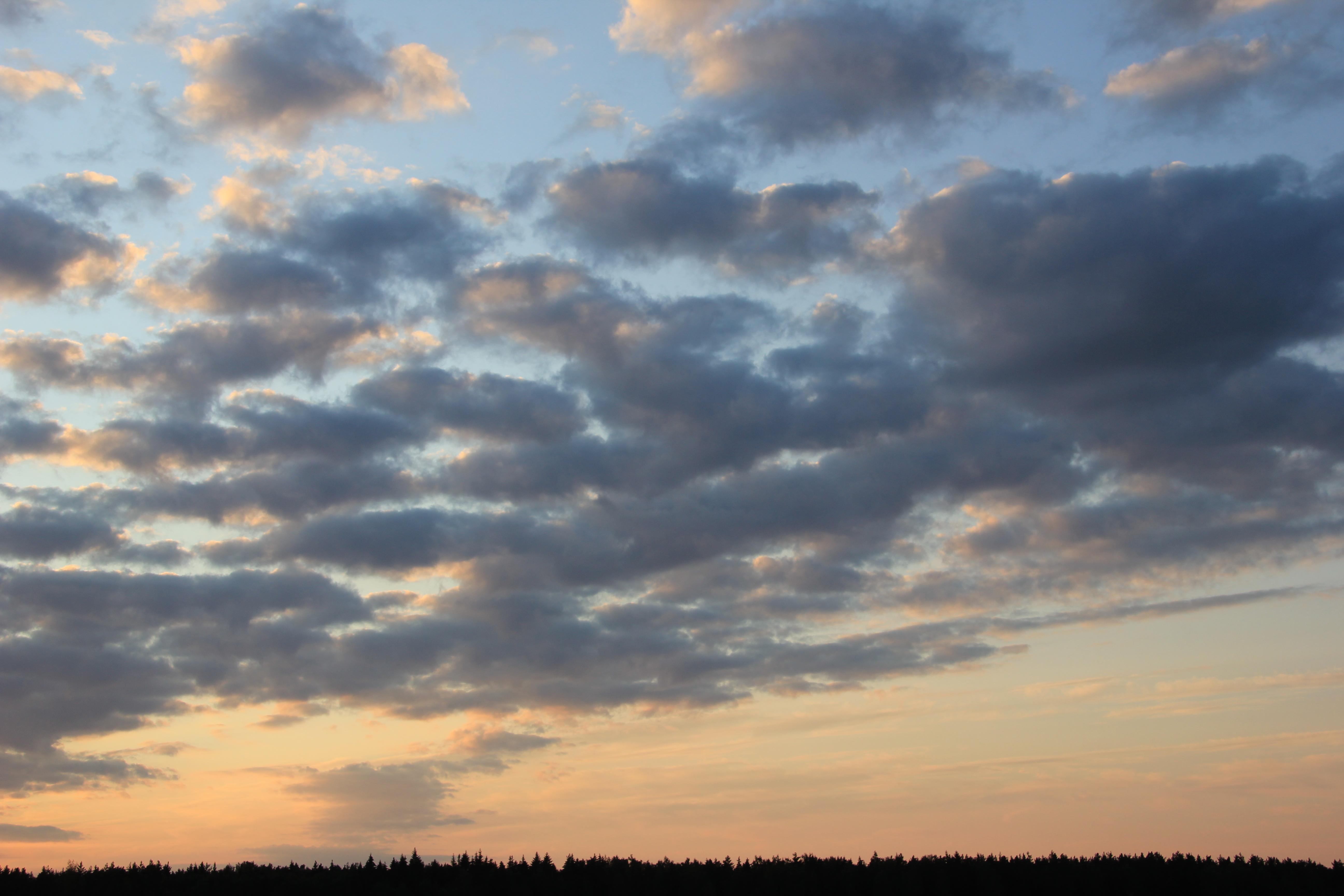 уходящее солнце в закат (48)