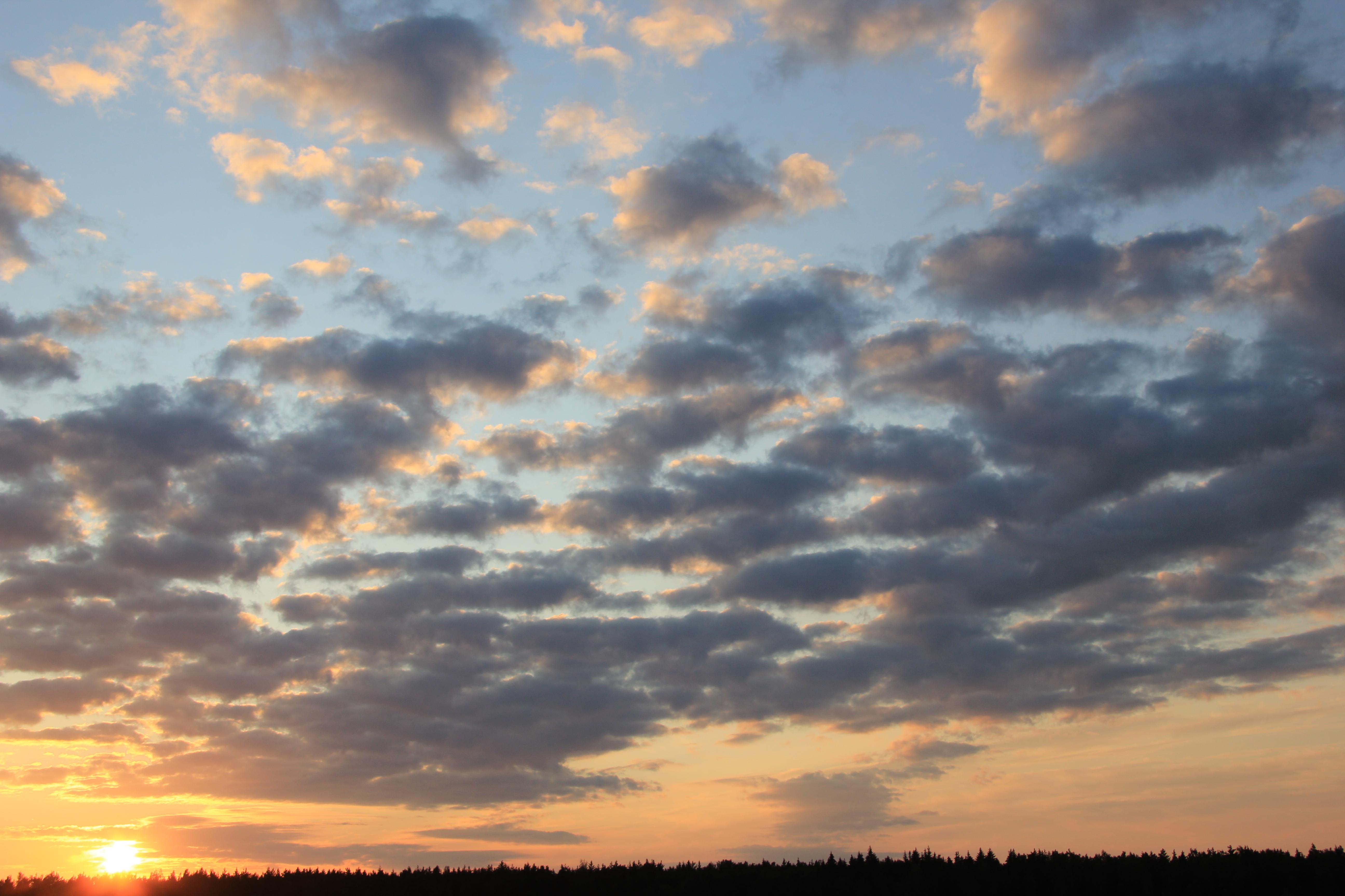 уходящее солнце в закат (49)