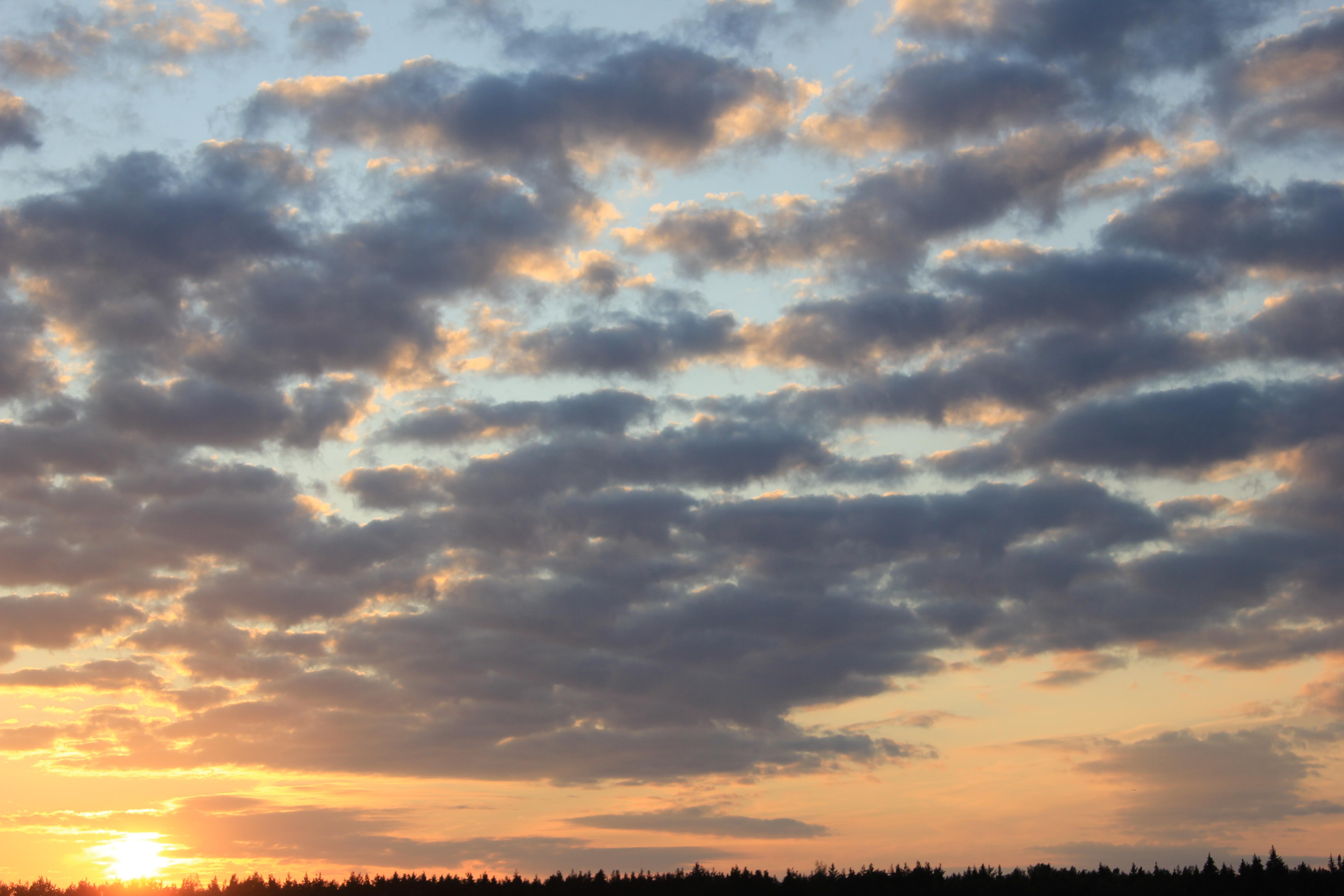 уходящее солнце в закат (50)