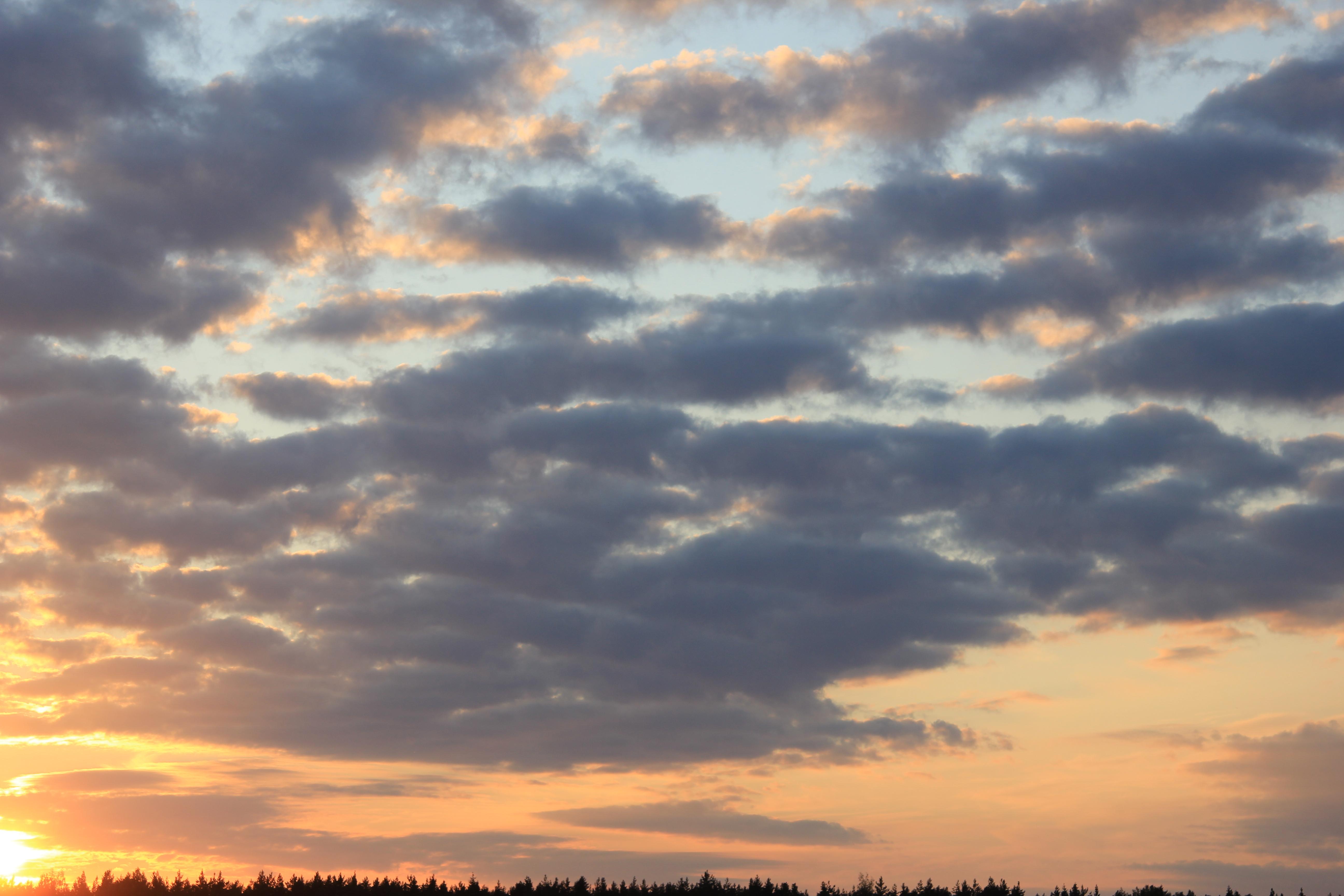 уходящее солнце в закат (55)