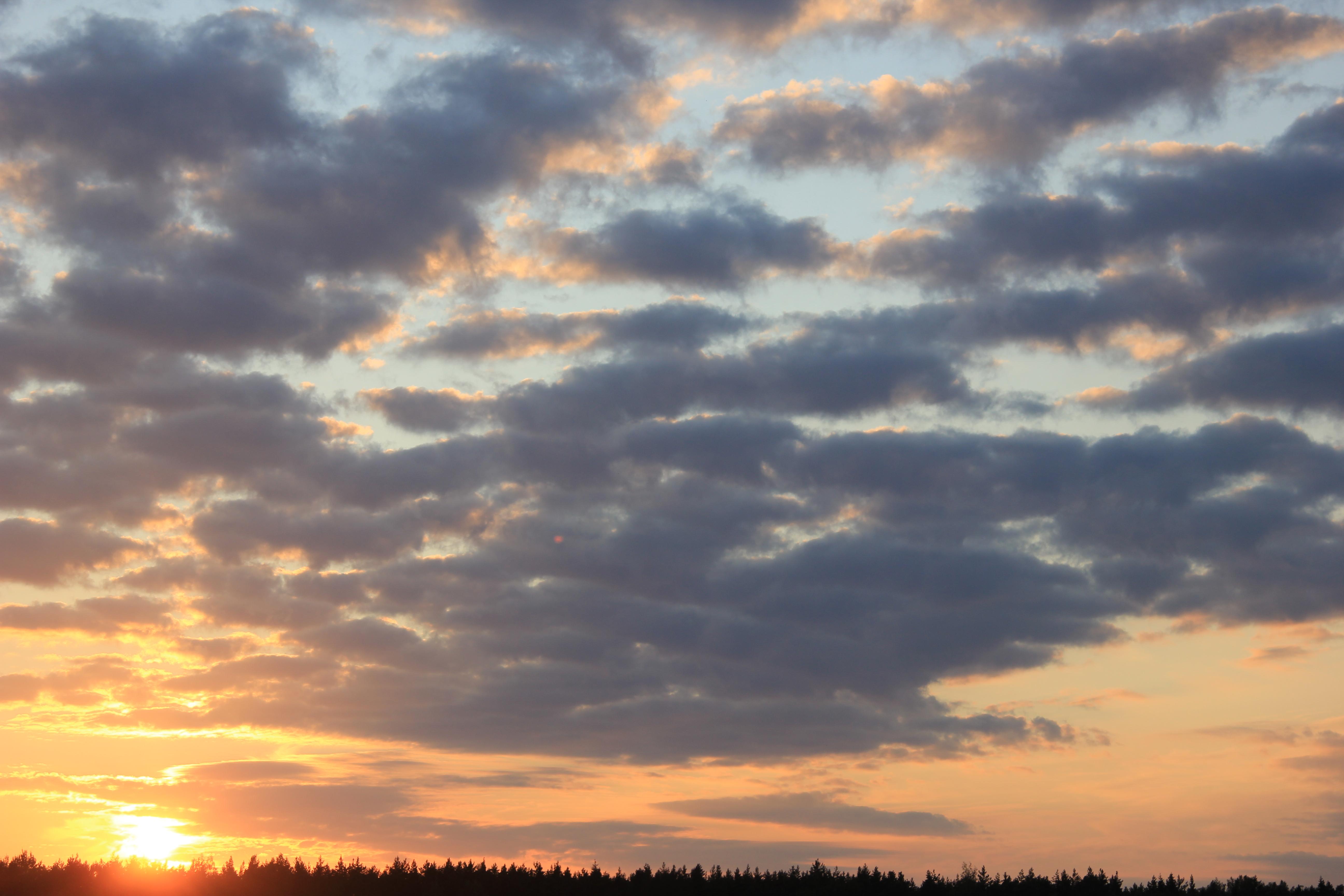 уходящее солнце в закат (56)