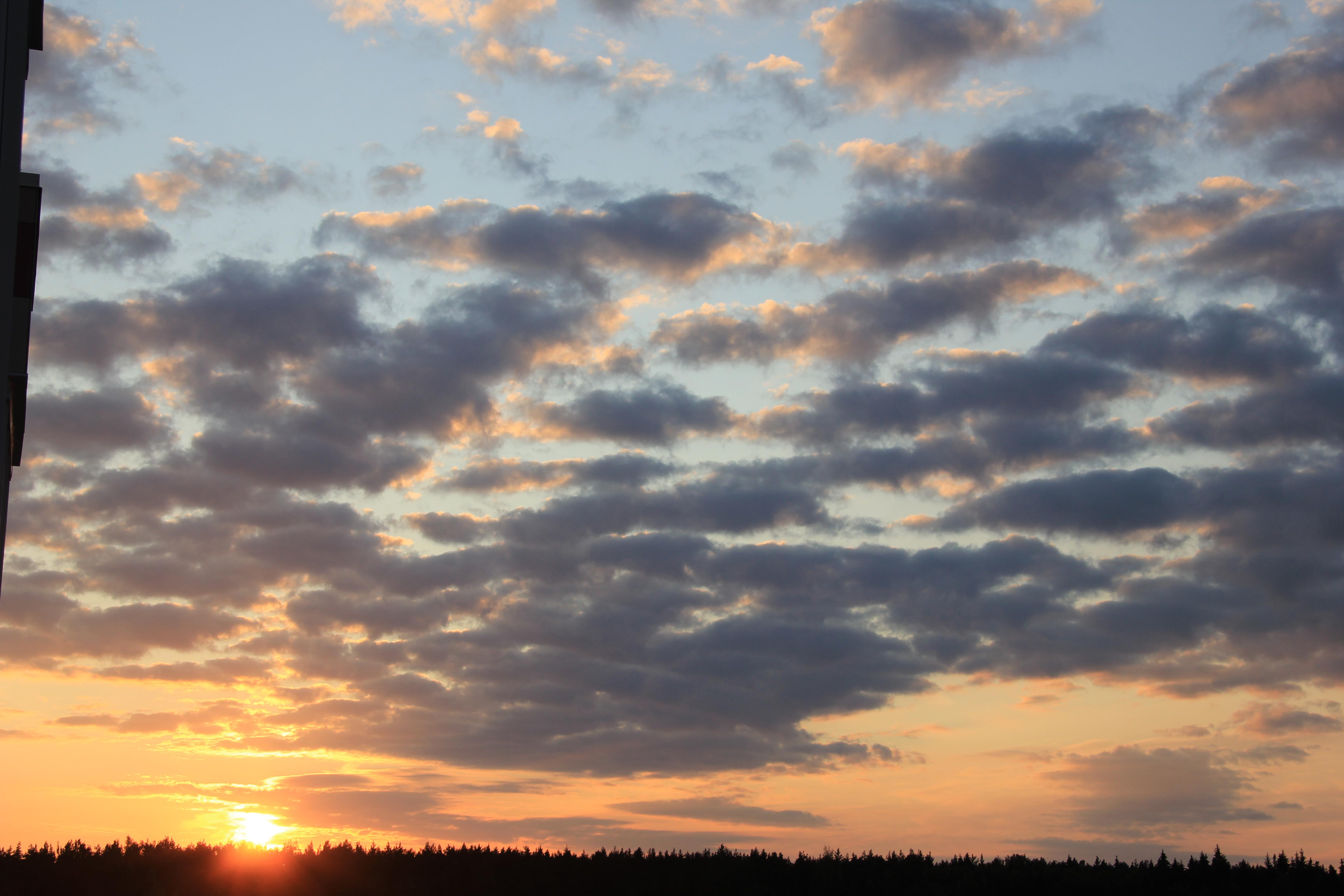 уходящее солнце в закат (57)