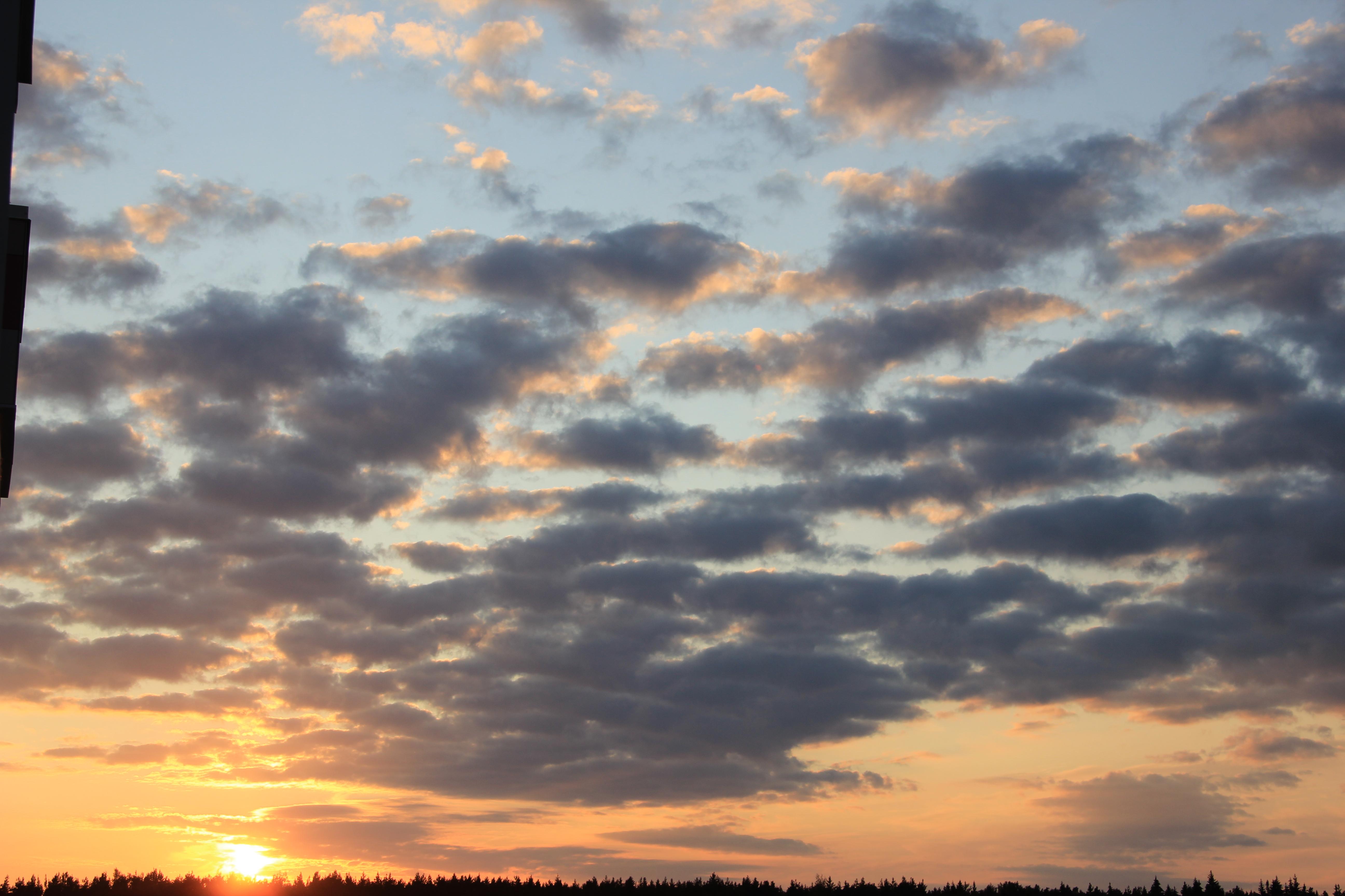 уходящее солнце в закат (58)