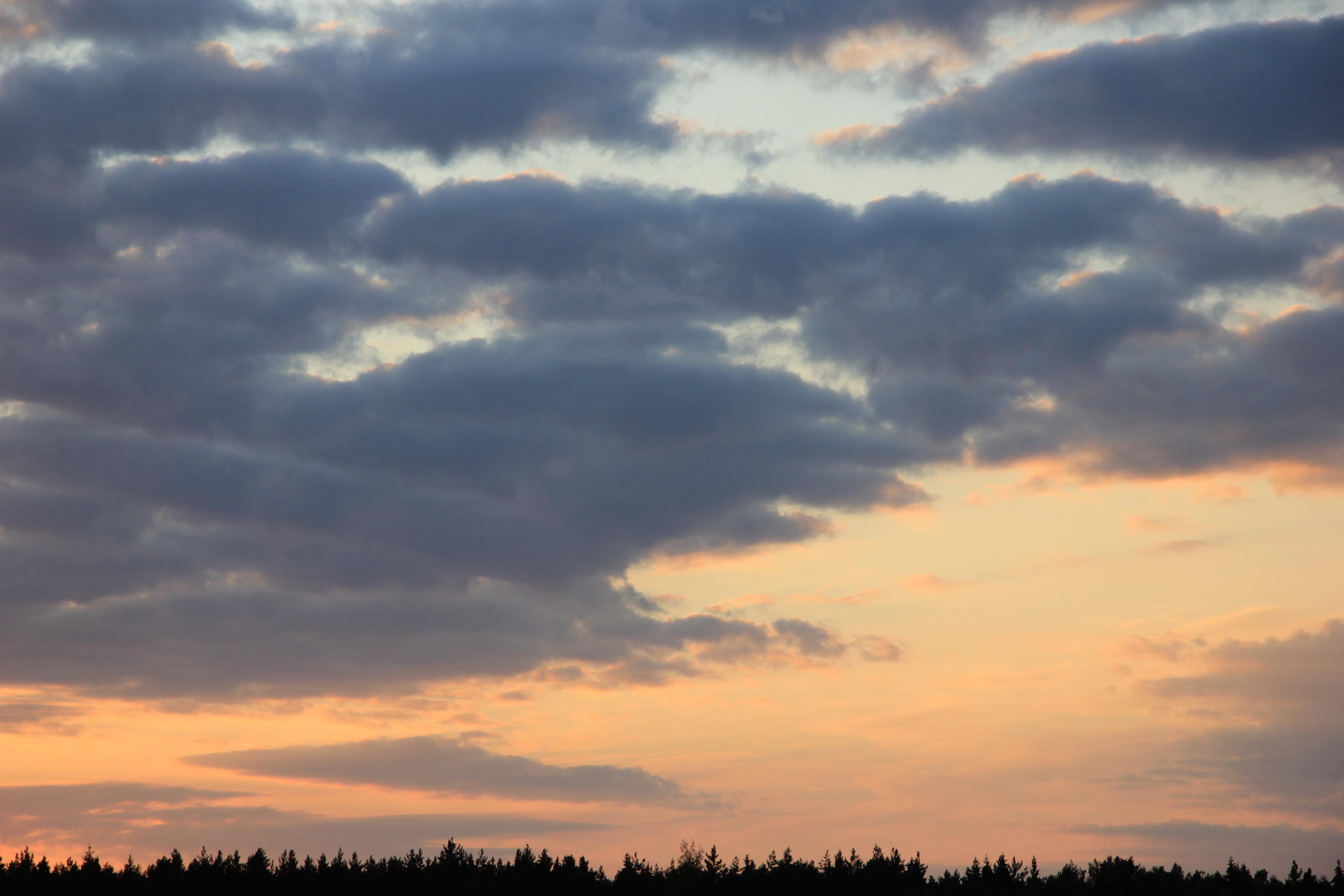 уходящее солнце в закат (7)
