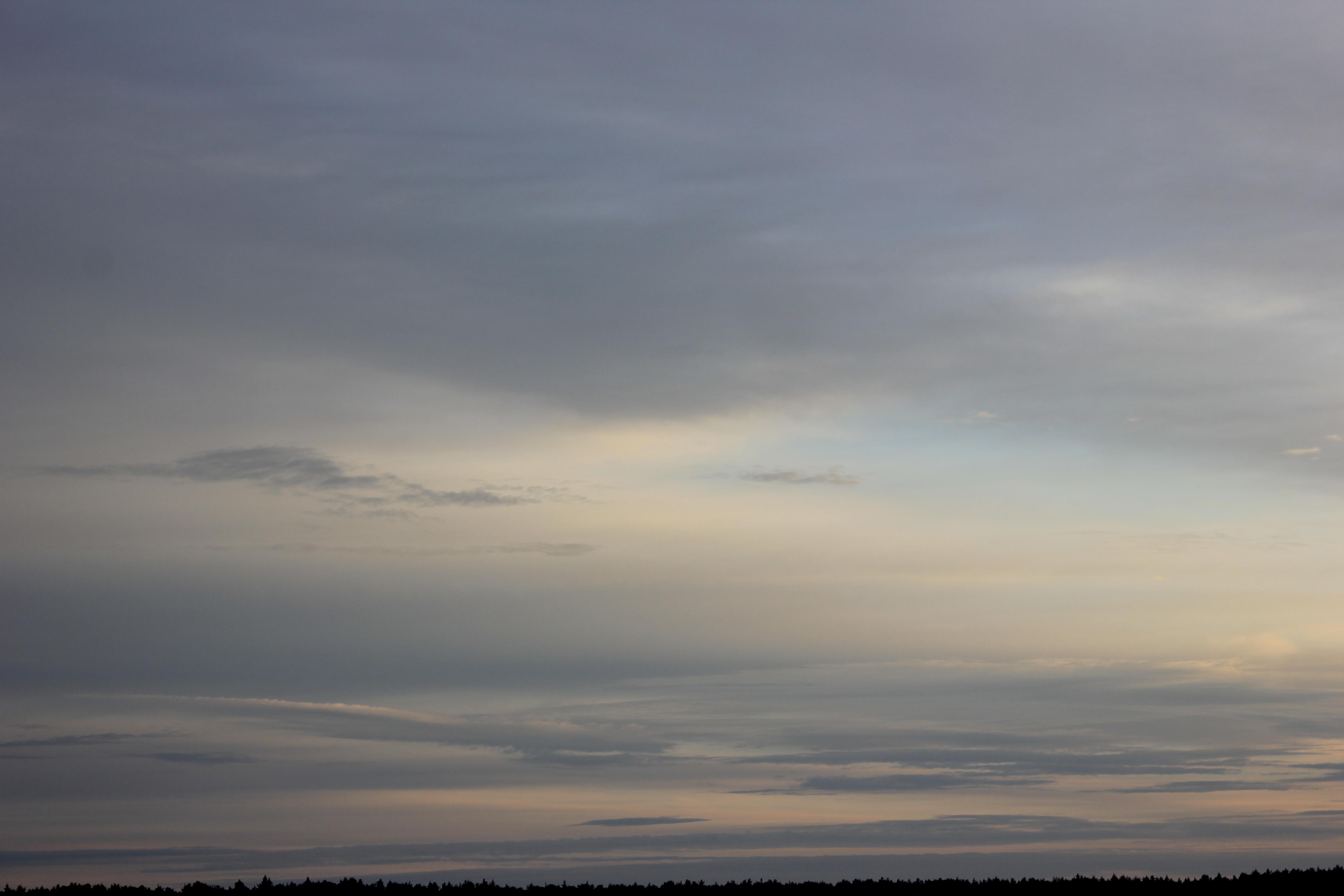 Яркое утреннее небо (3)