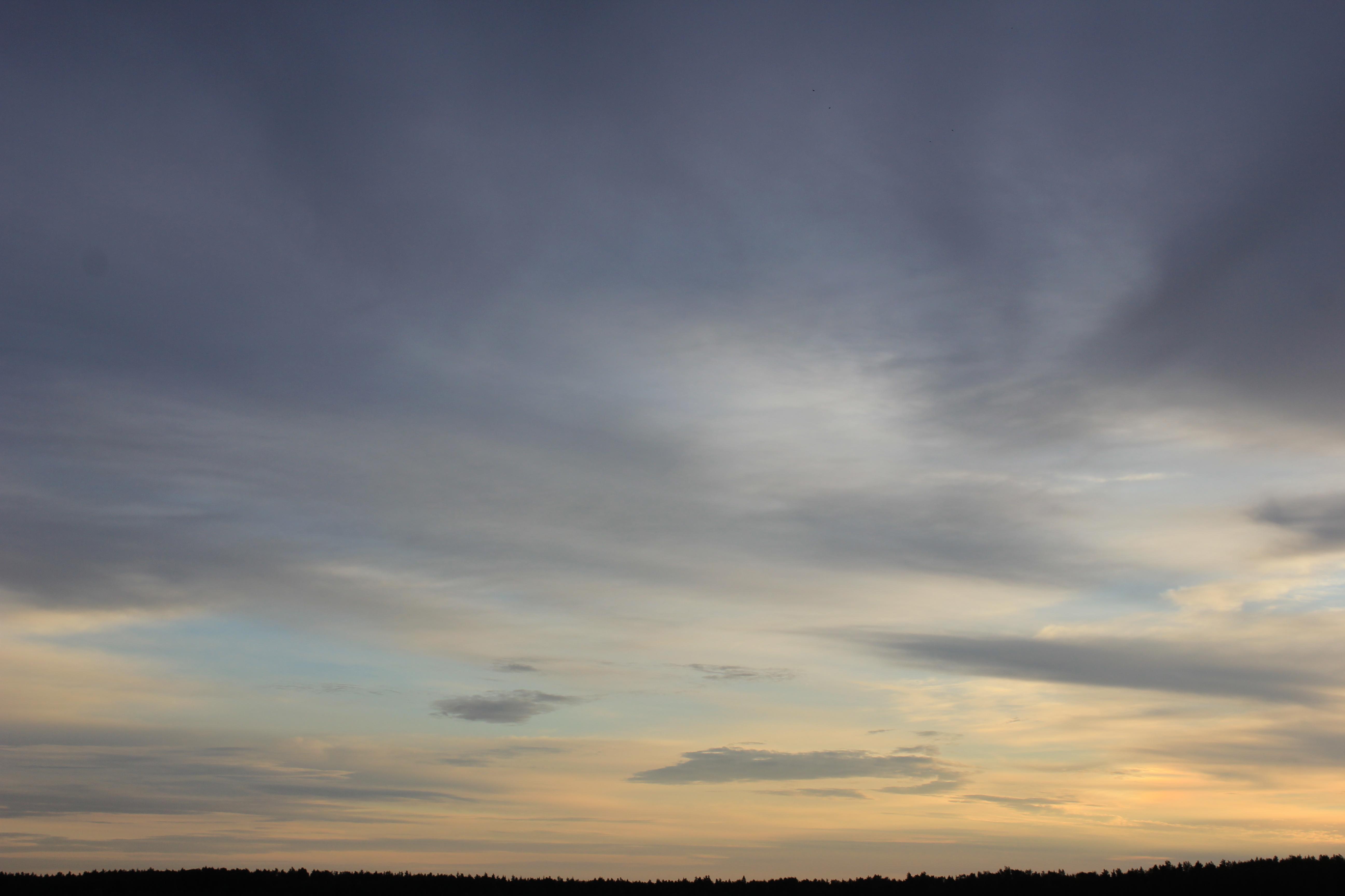Яркое утреннее небо (4)